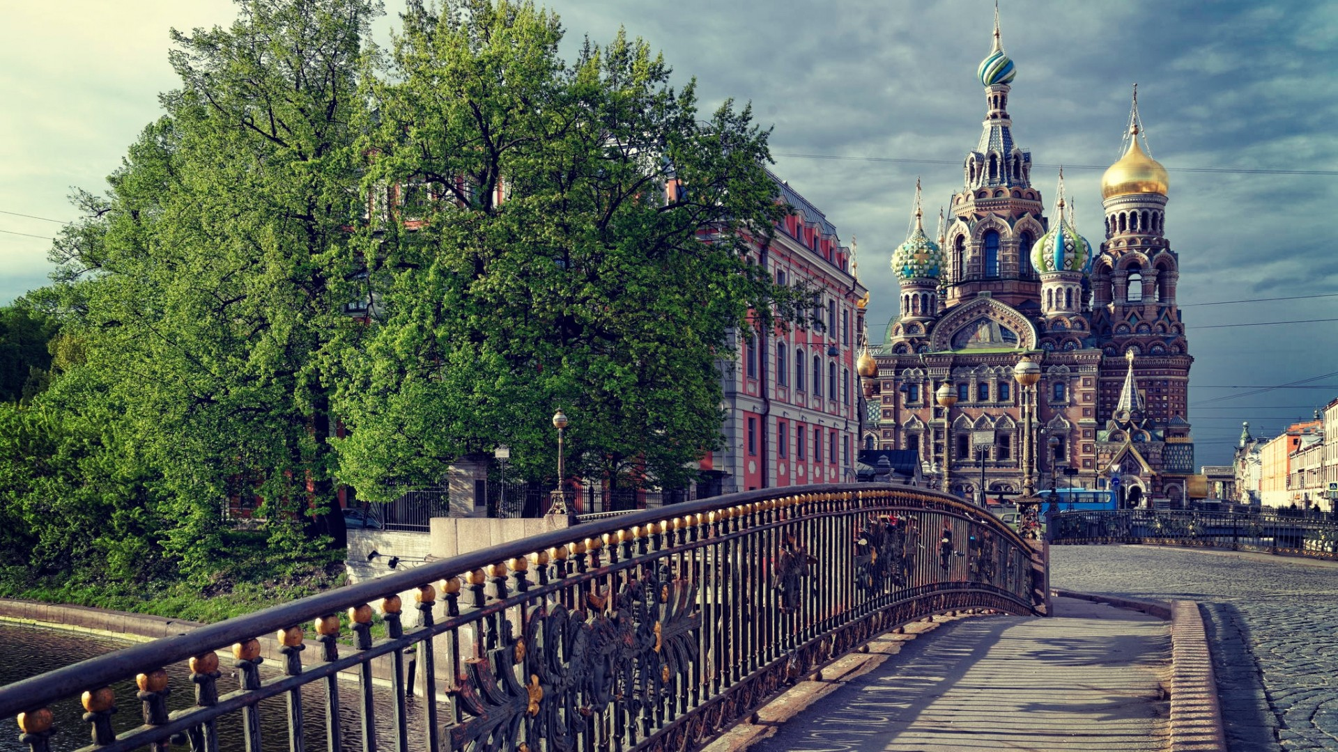1920x1080 Preview wallpaper st petersburg, russia, temple, the savior on the spilled  blood,
