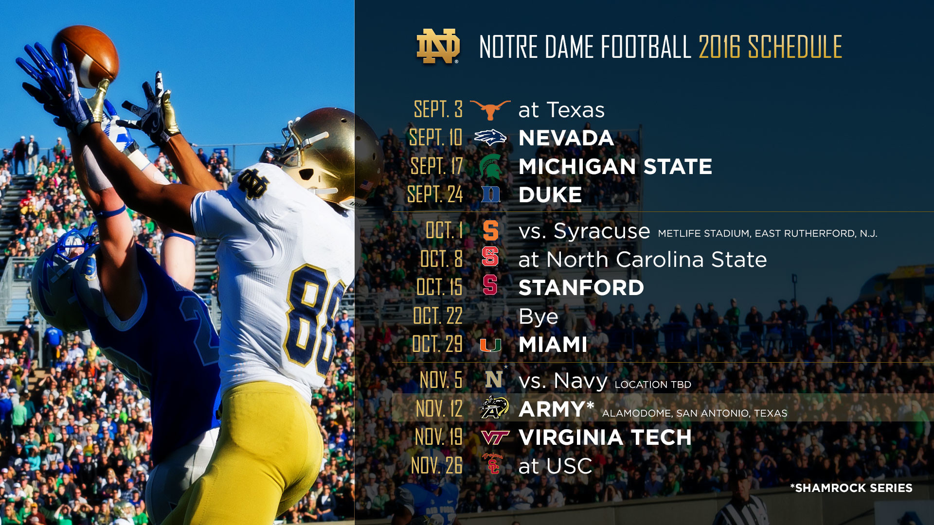 1920x1080 THE 2016 FOOTBALL SCHEDULE