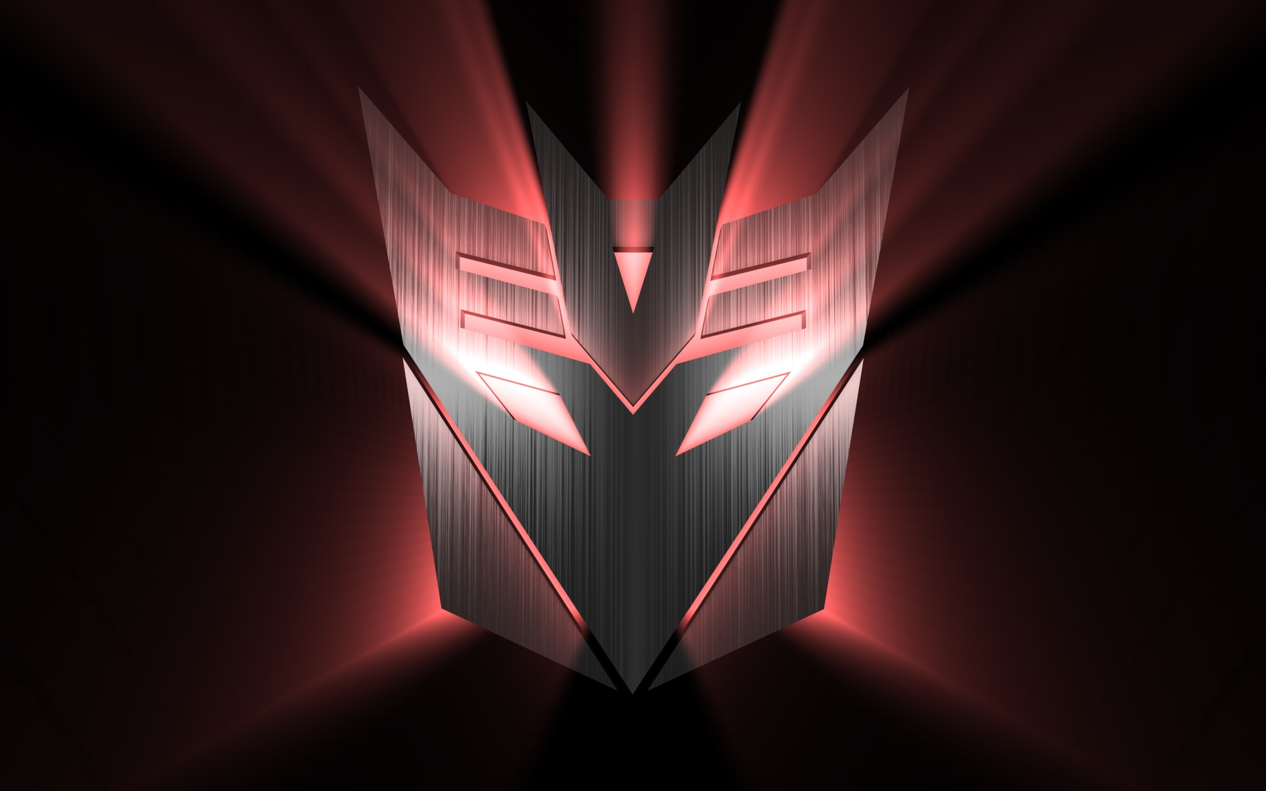 2560x1600 Comics - Transformers Dark Logo Wallpaper