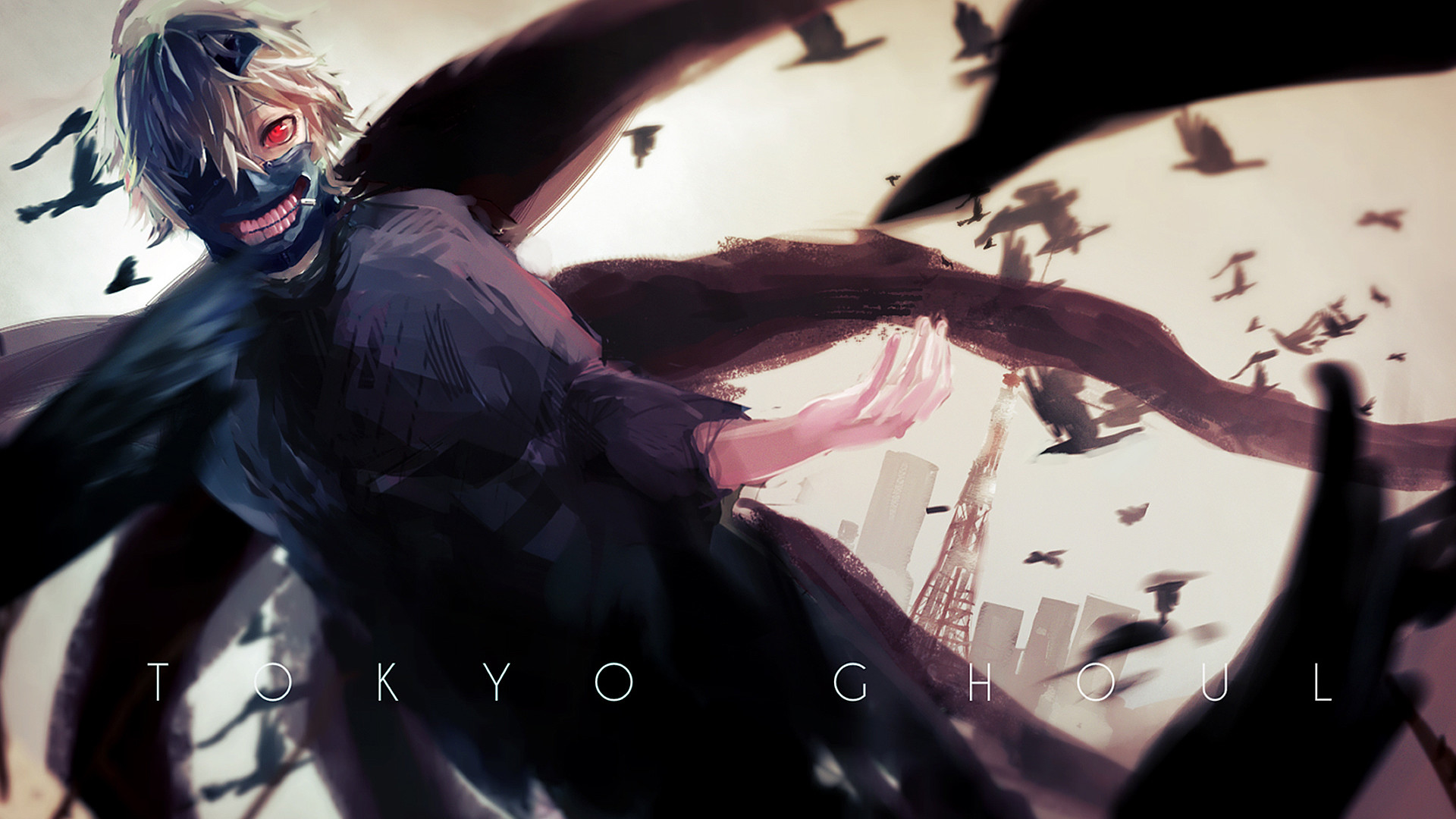 1920x1080 Image for Free Tokyo Ghoul Anime HD Wallpaper 22