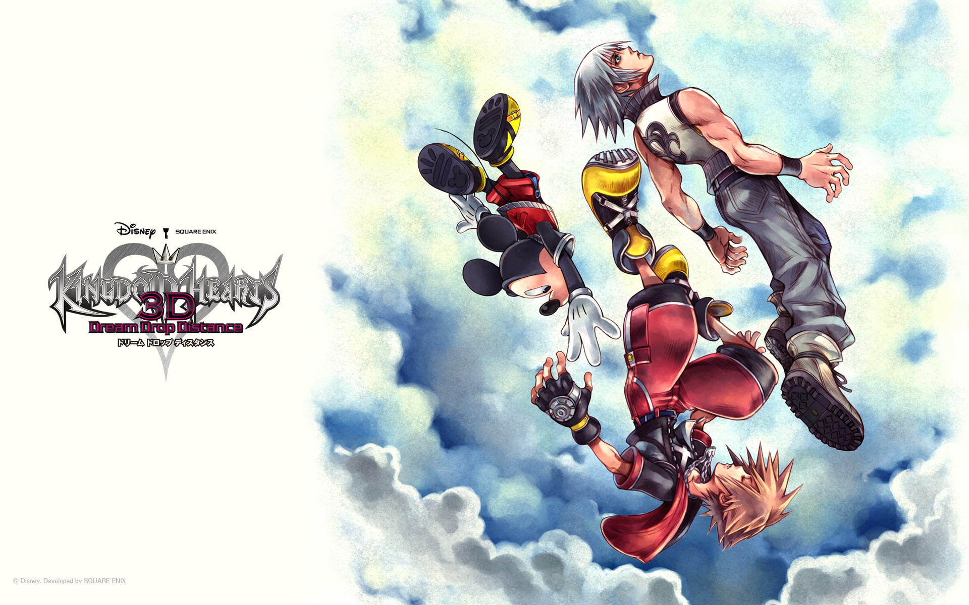 1920x1200 ... download Kingdom Hearts 3D: Dream Drop Distance image