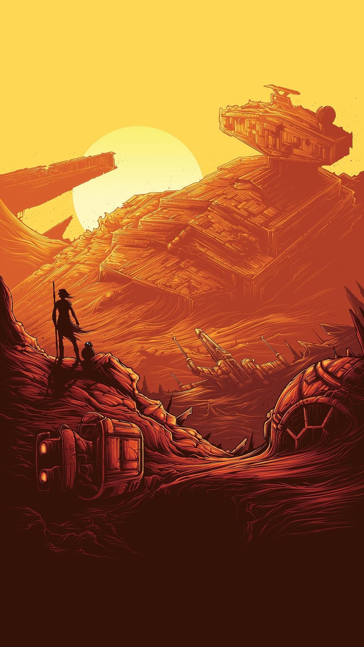 2880x1800 5K HD Wallpaper Star Wars Fan Art