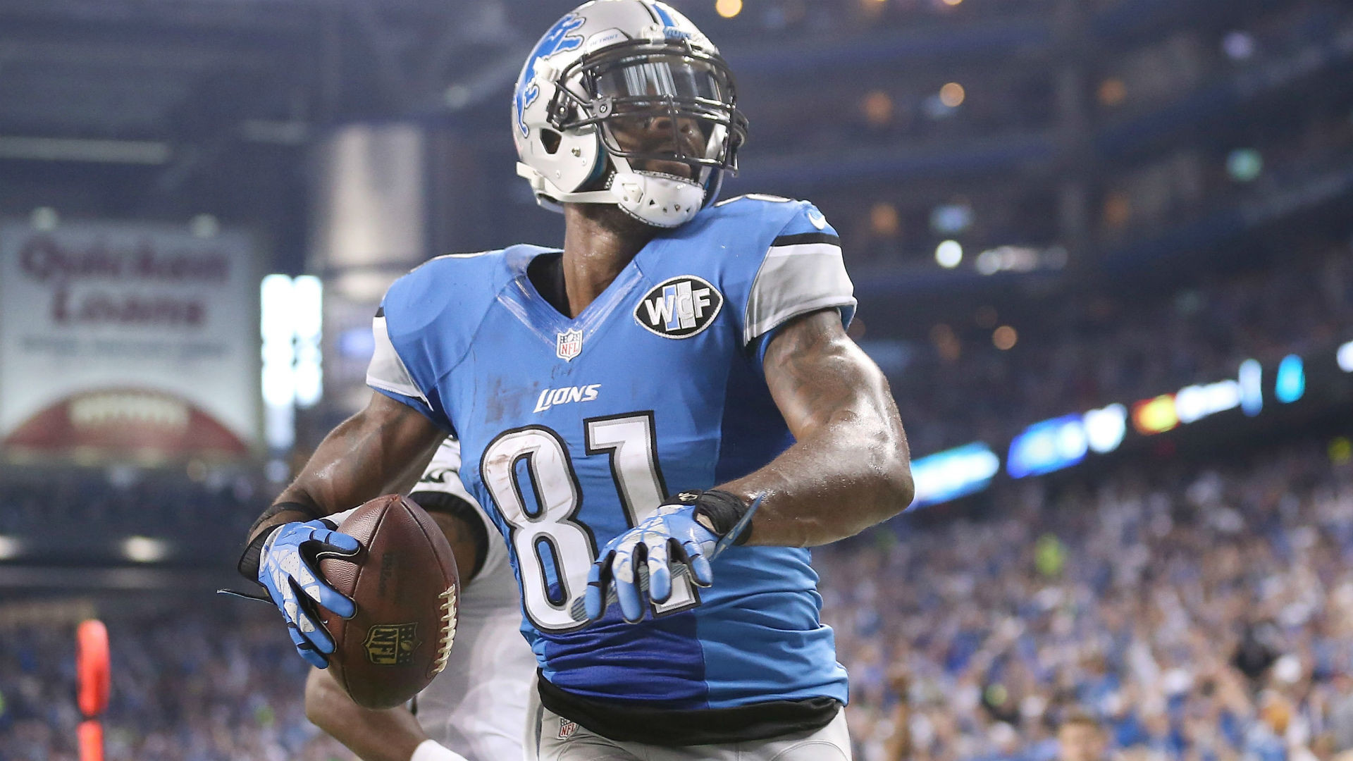 1920x1080 Megatron sets Thanksgiving touchdown record as Lions cook Eagles | NFL |  Sporting News