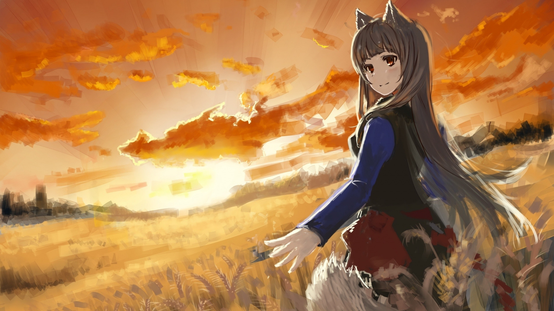 Wolf Girl Wallpaper 77 Images