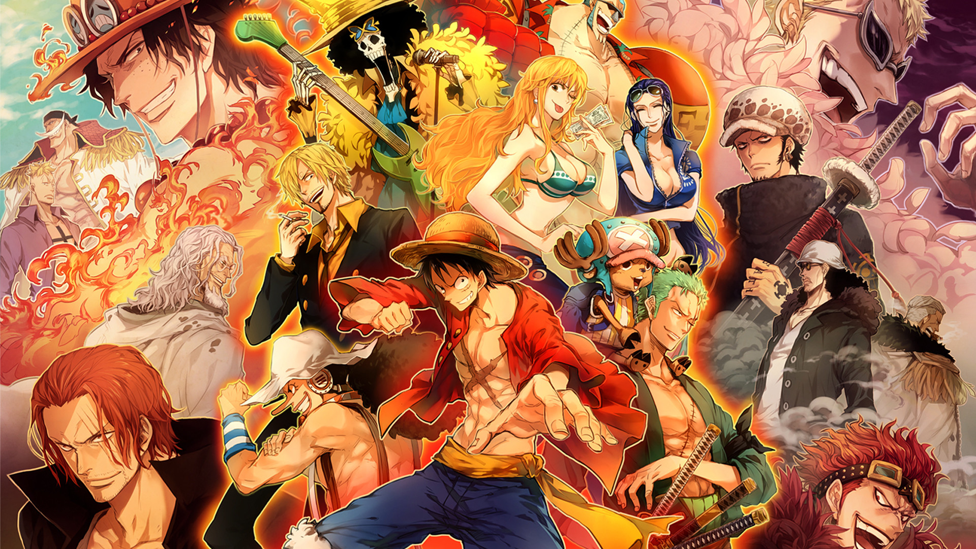 1920x1080 All Character Anime Movie One Piece Wallpaper For Desktop HD #26820929