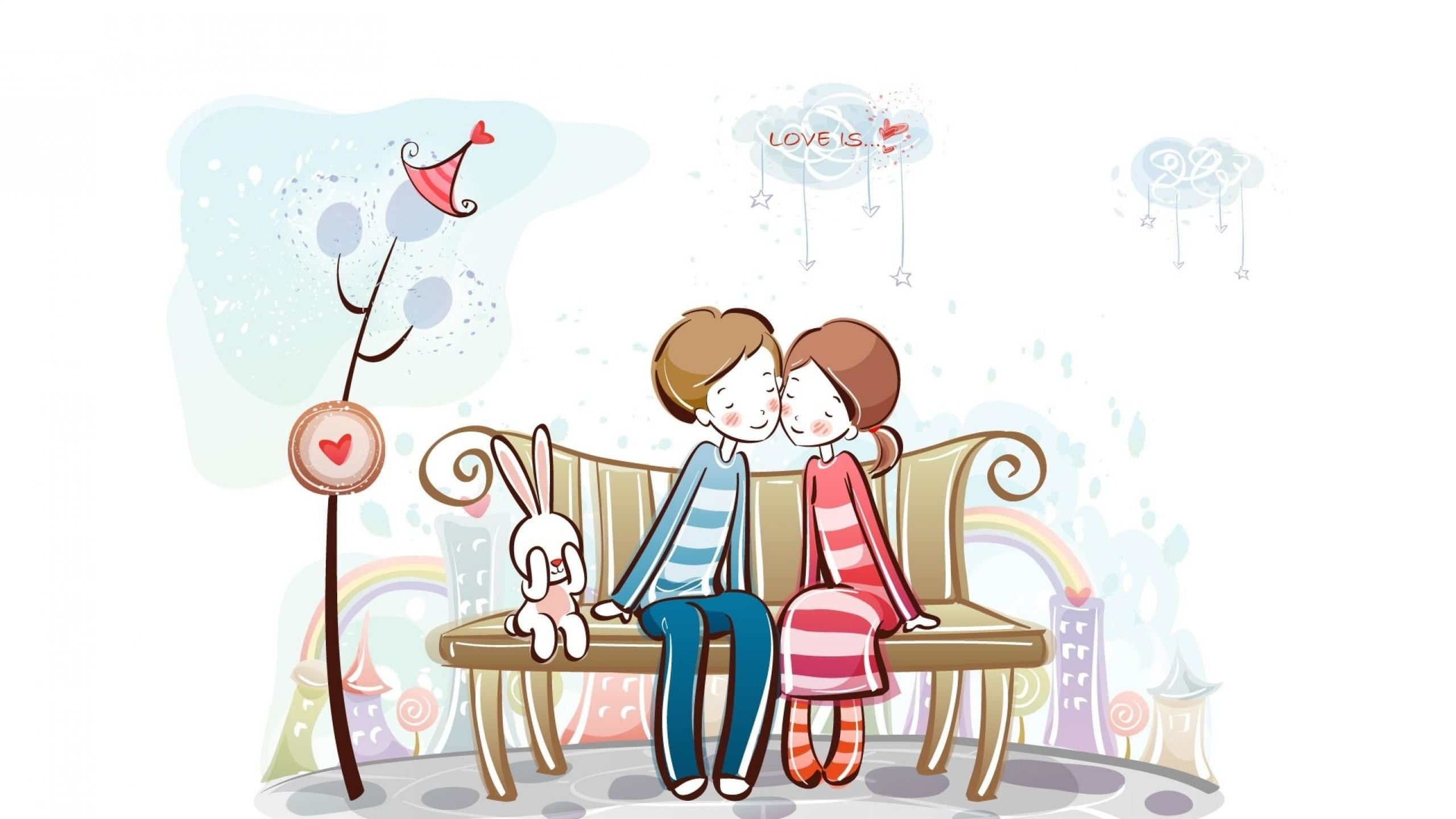 Download Love Couple Cartoon HD Wallpaper Download - 63655  Pictures_85948.jpg