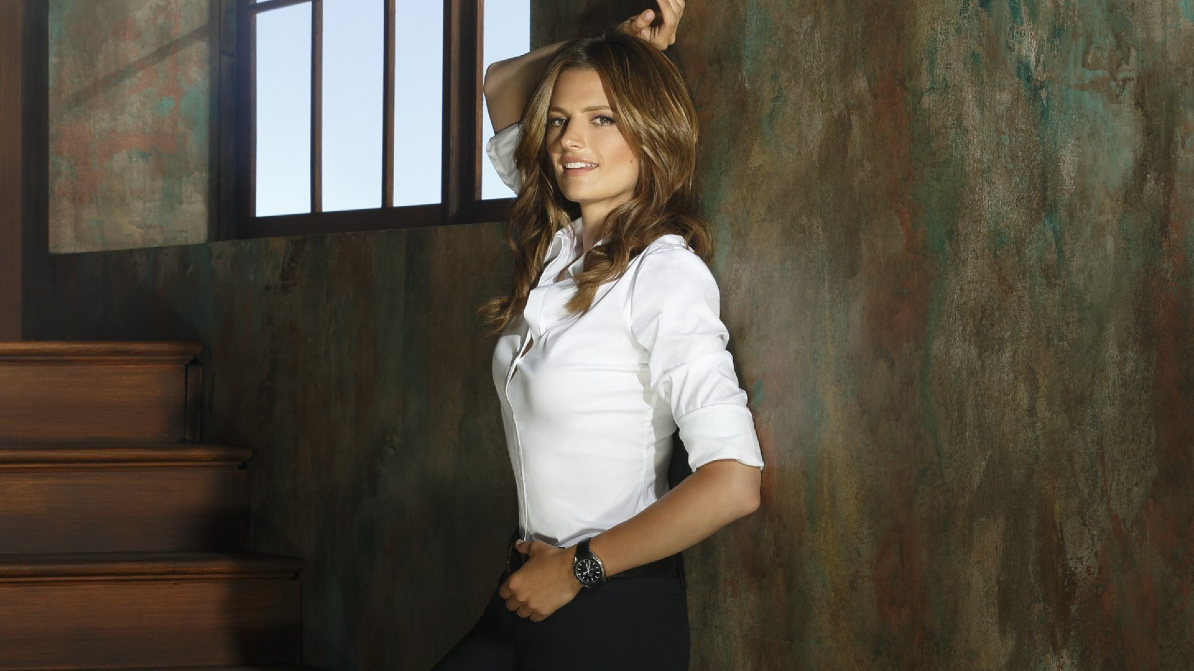3840x2160 Stana Katic hot