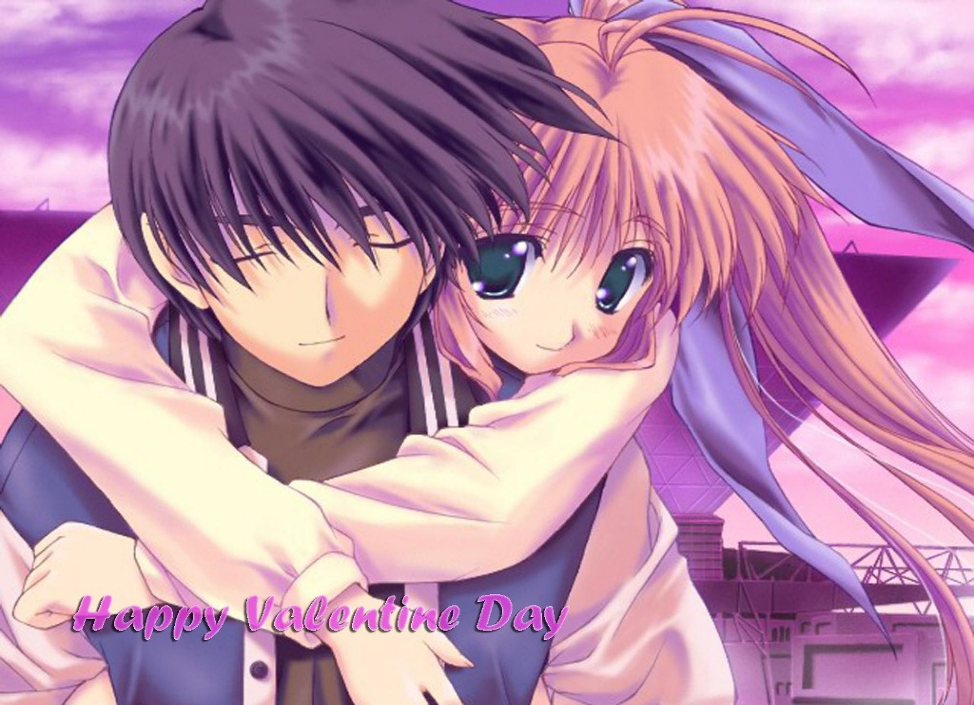 1990x1440 Anime Love Valentines Day HD Wallpaper 7823 4046
