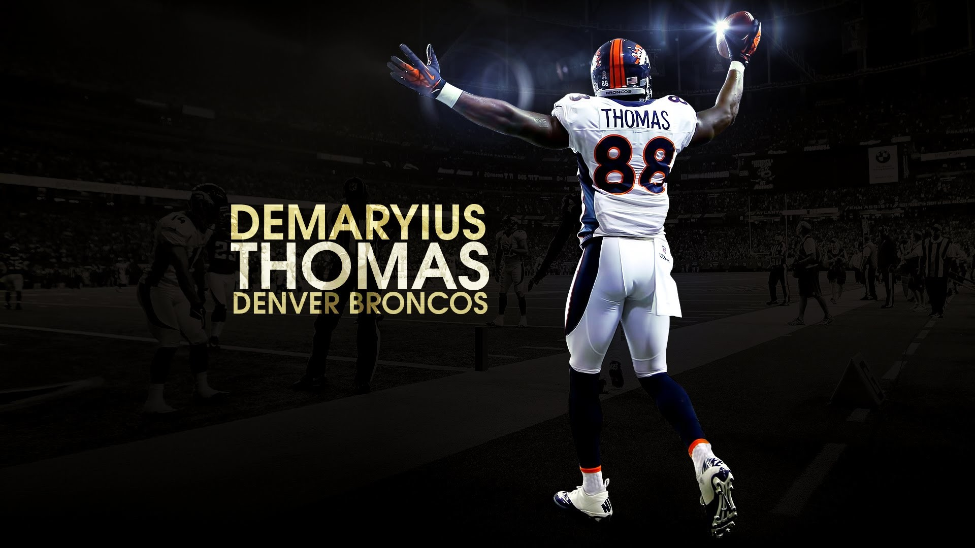 Denver Broncos Wallpaper Screensavers (69+ images)Demaryius Thomas Wallpaper