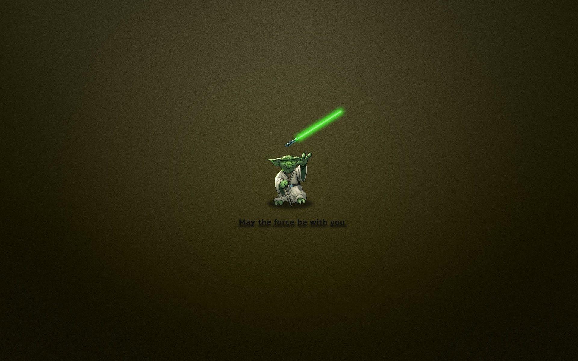 Funny Yoda Wallpapers