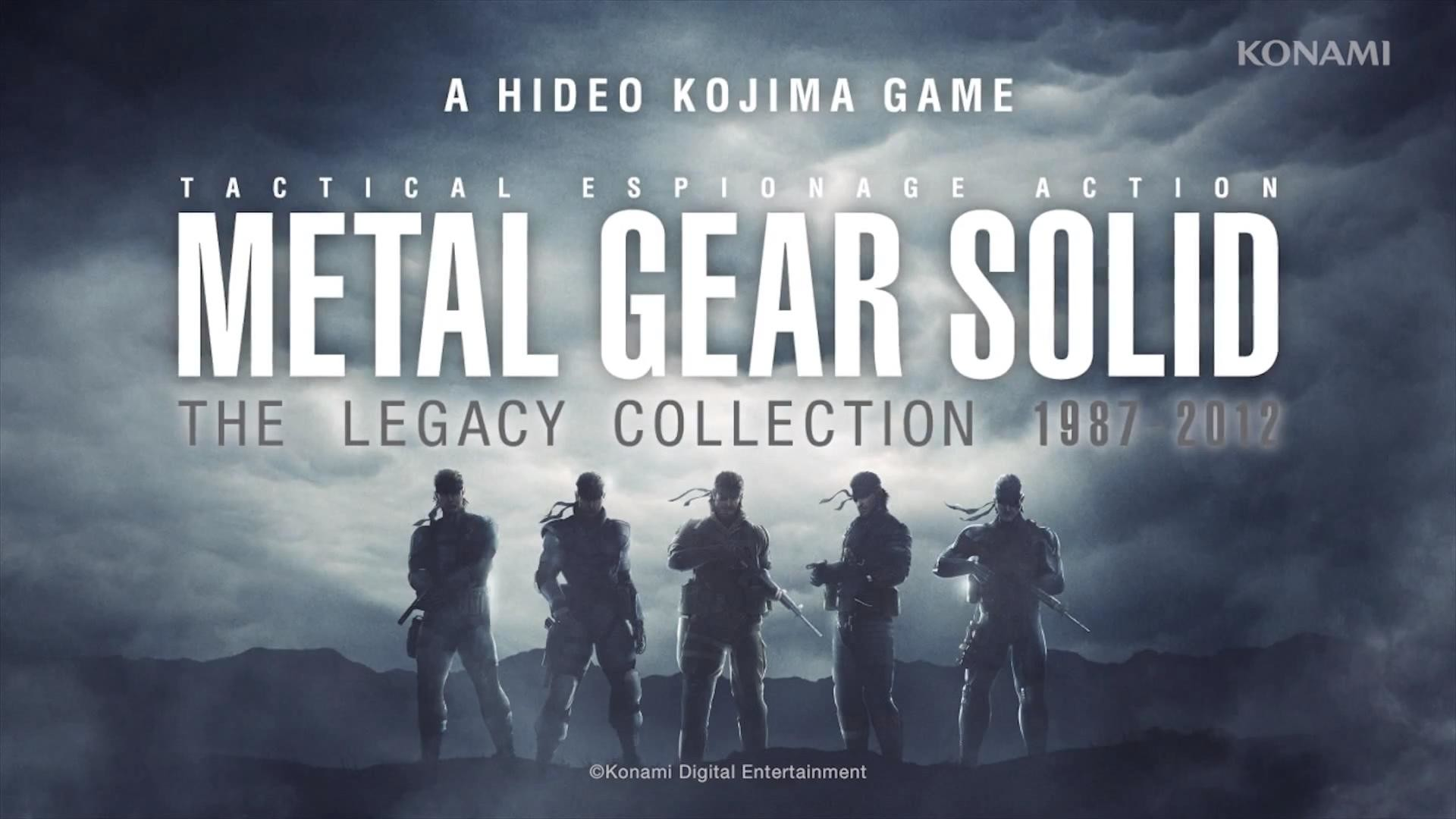 1920x1080 MGS Legacy Collection Desktop Background -  : metalgearsolid