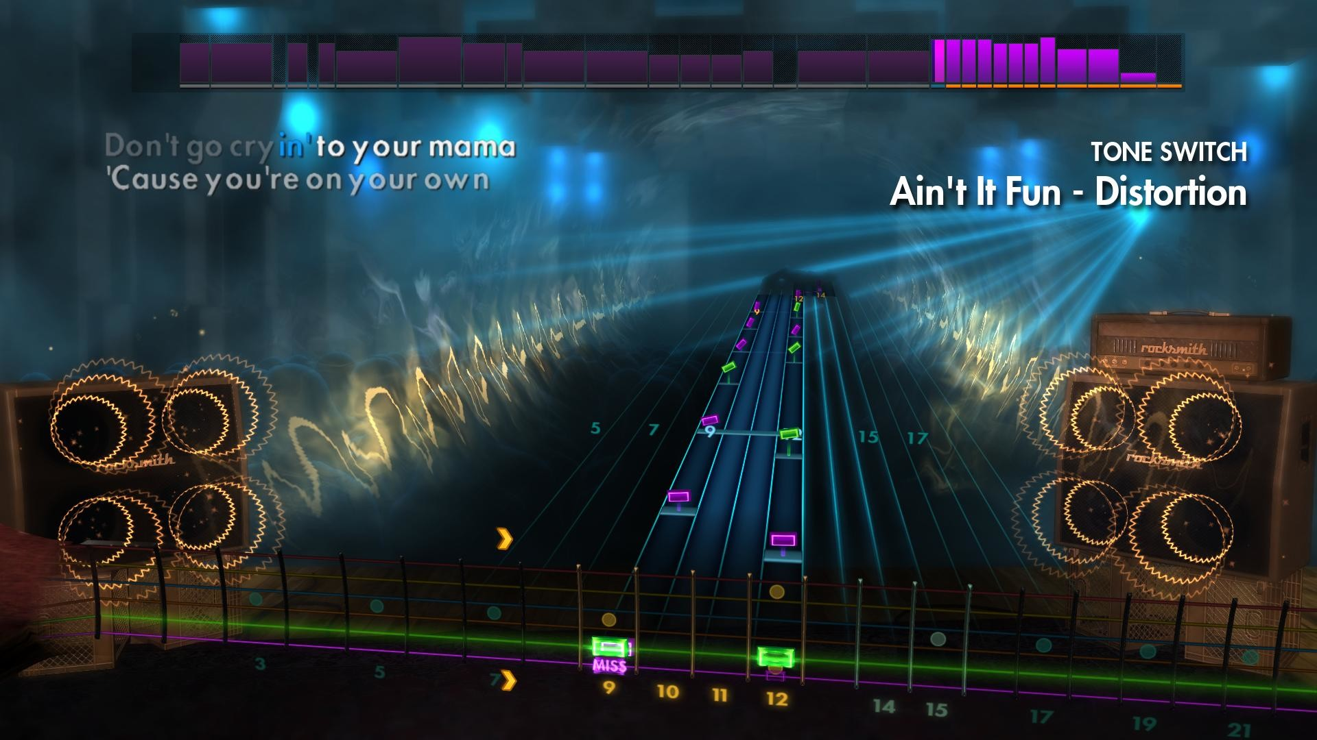 "1920x1080 Rocksmith® 2014 Edition – Remastered – Paramore - ""Ain't It Fun"" on Steam"