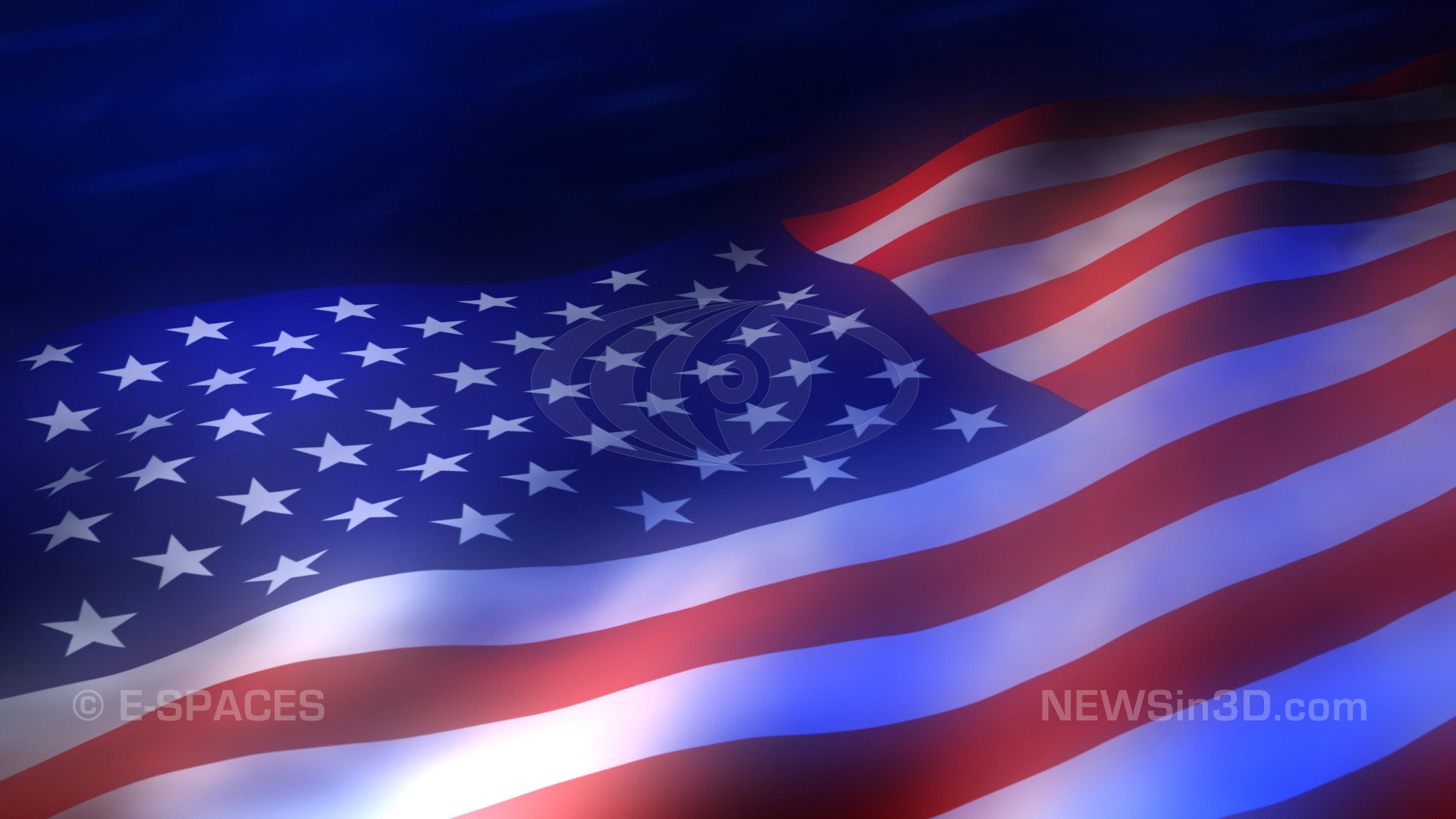 1920x1080 American flag animated background high definition preview still