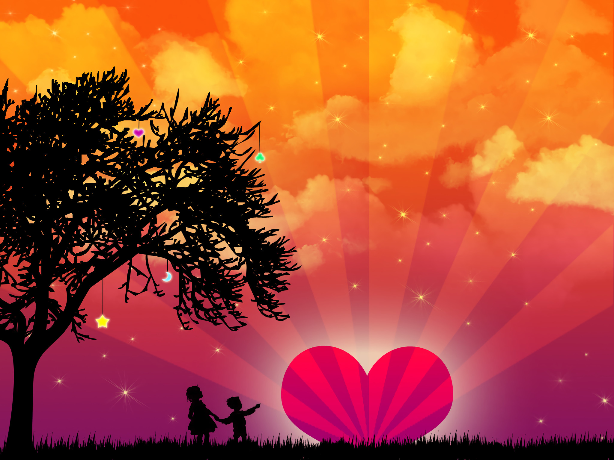 cute Love Backgrounds (63+ images)