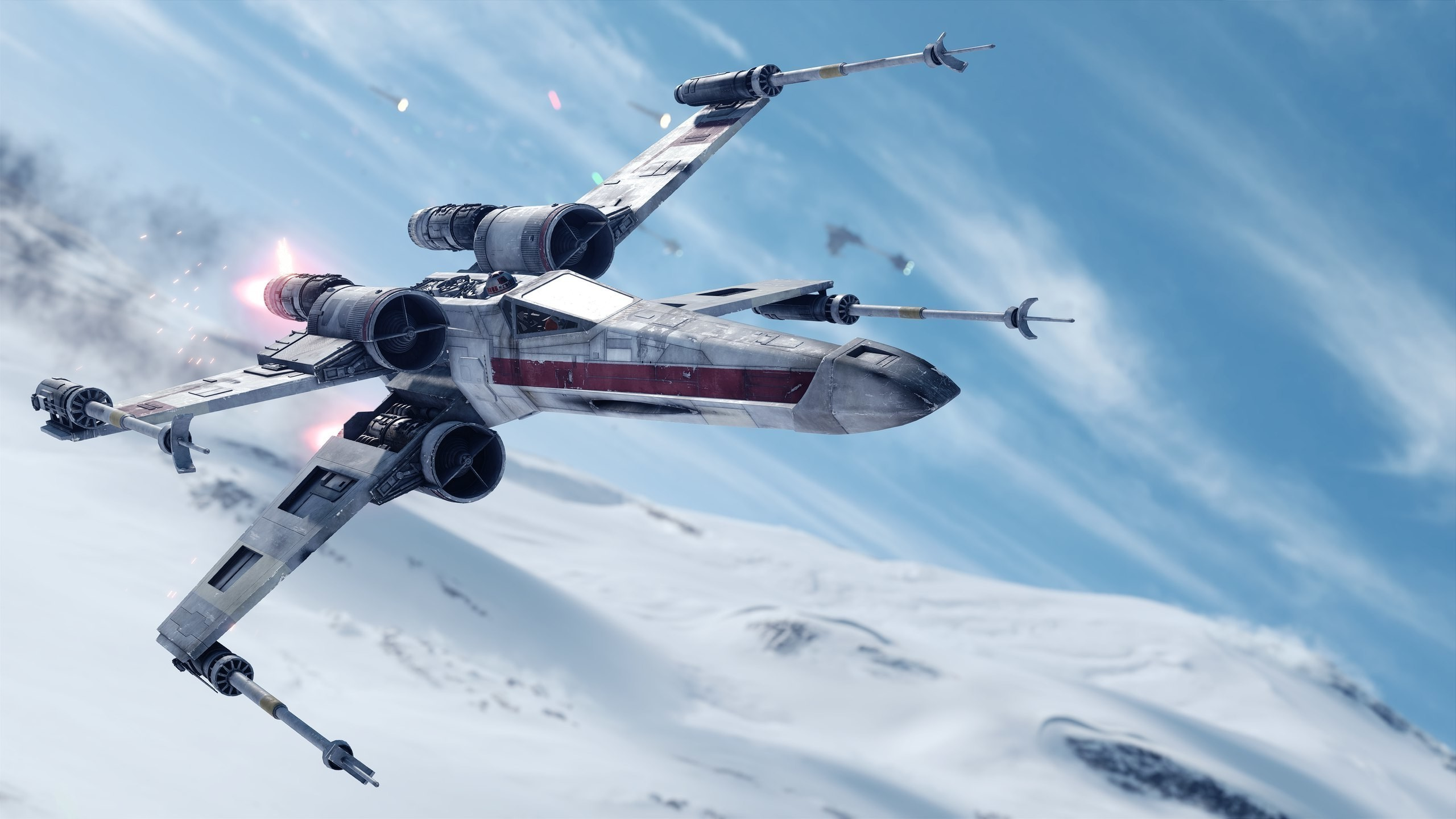 2560x1440 Star Wars, Artwork, Video Games, Star Wars: Battlefront, X wing Wallpapers  HD / Desktop and Mobile Backgrounds