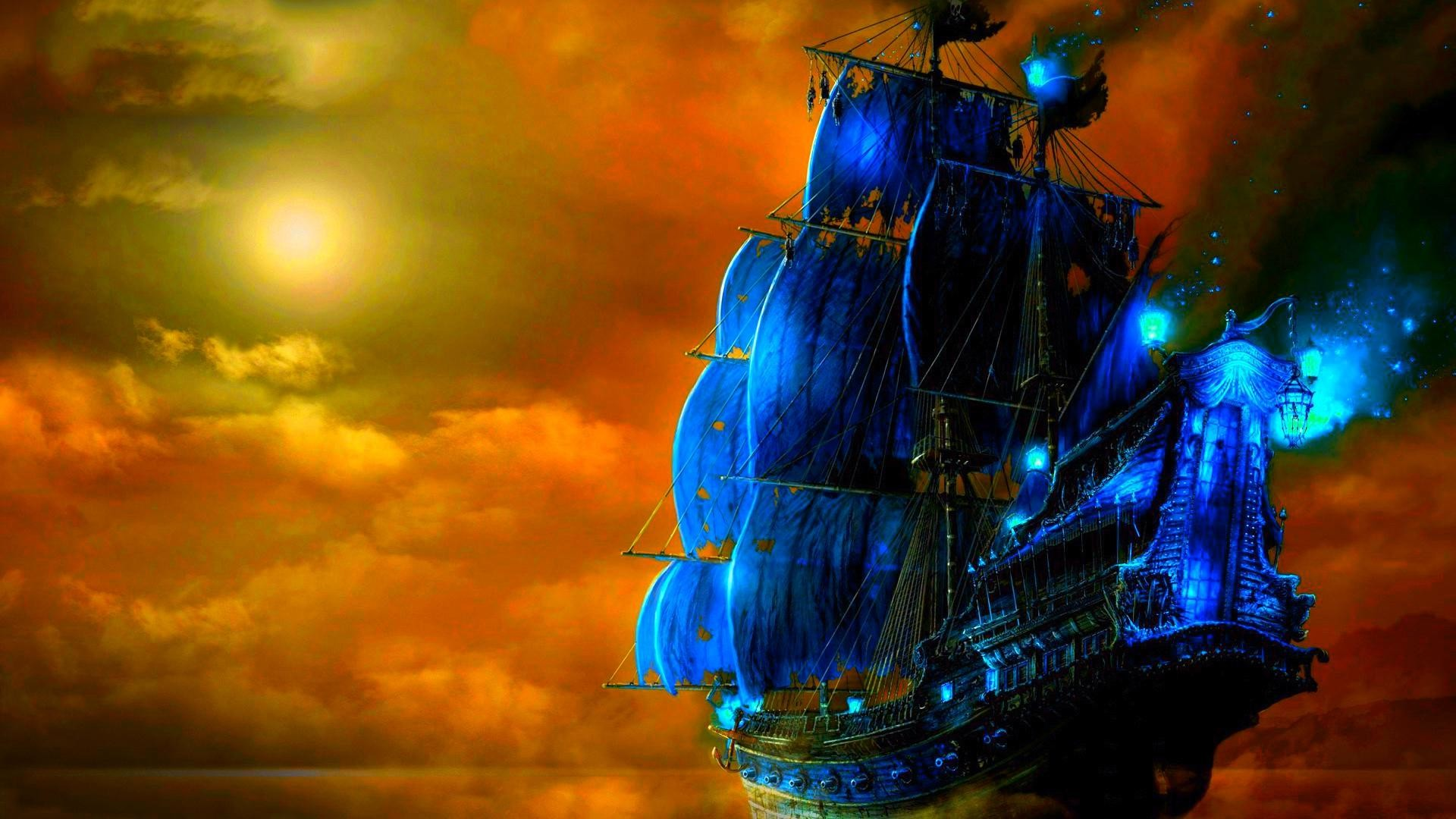 1920x1080 Pirate Ship Backgrounds - Wallpaper Cave Free Ghost Pirate Ship Wallpapers  1080p Â« Long Wallpapers ...