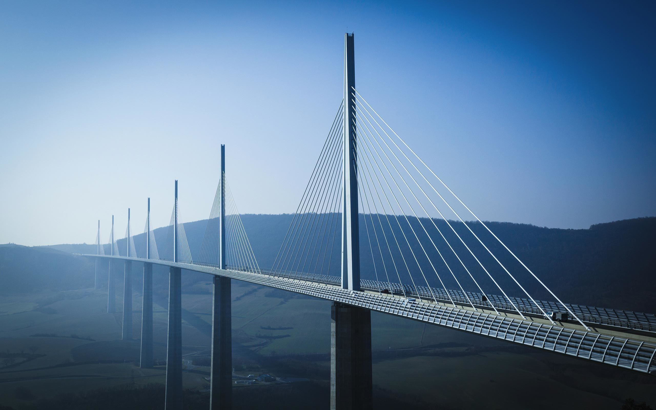 2560x1600 millau-viaduct-architecture-wallpaper | Nalashaa | Custom Product .