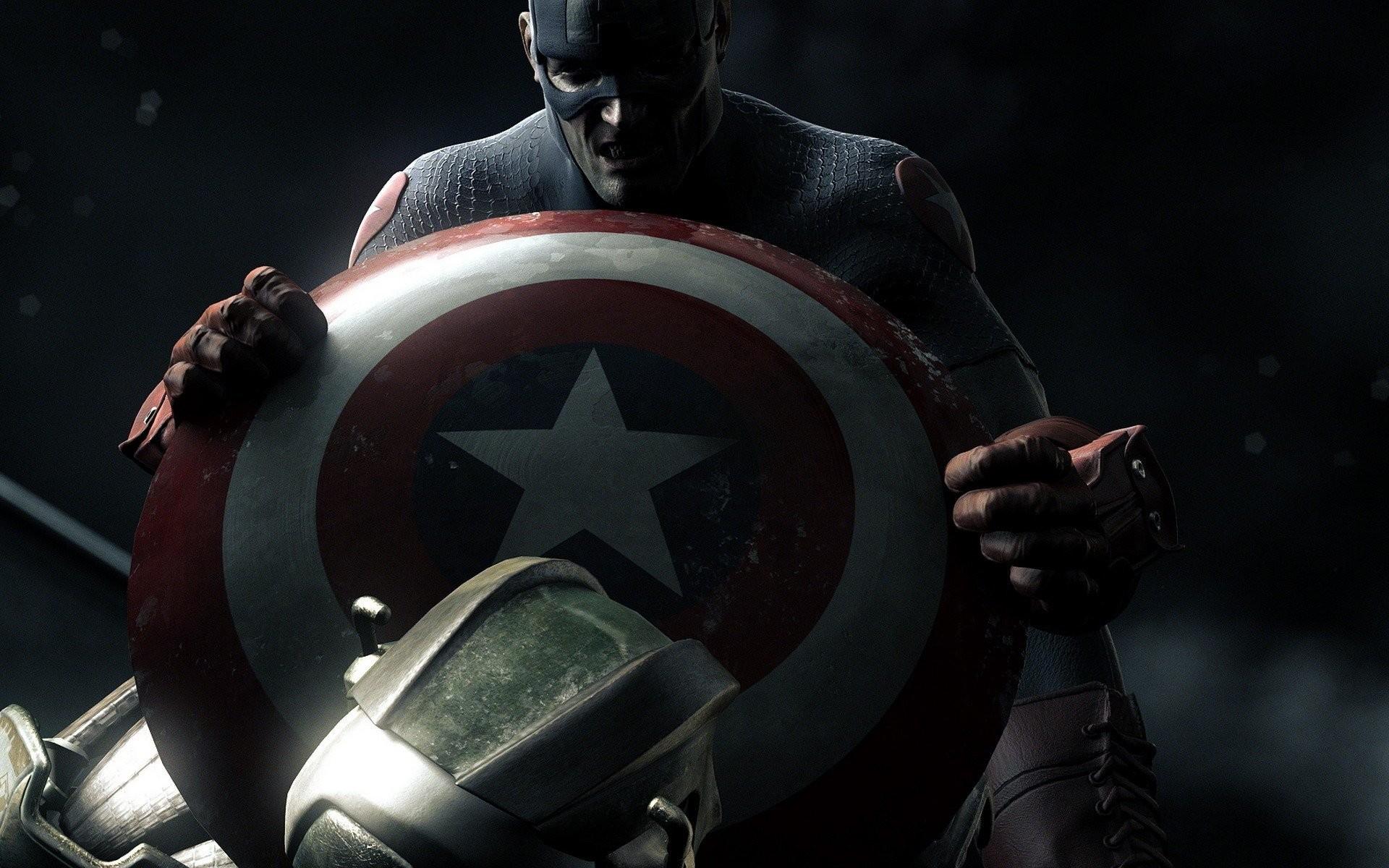 Captain america shield wallpapers 69 images - Captain america screensaver download ...