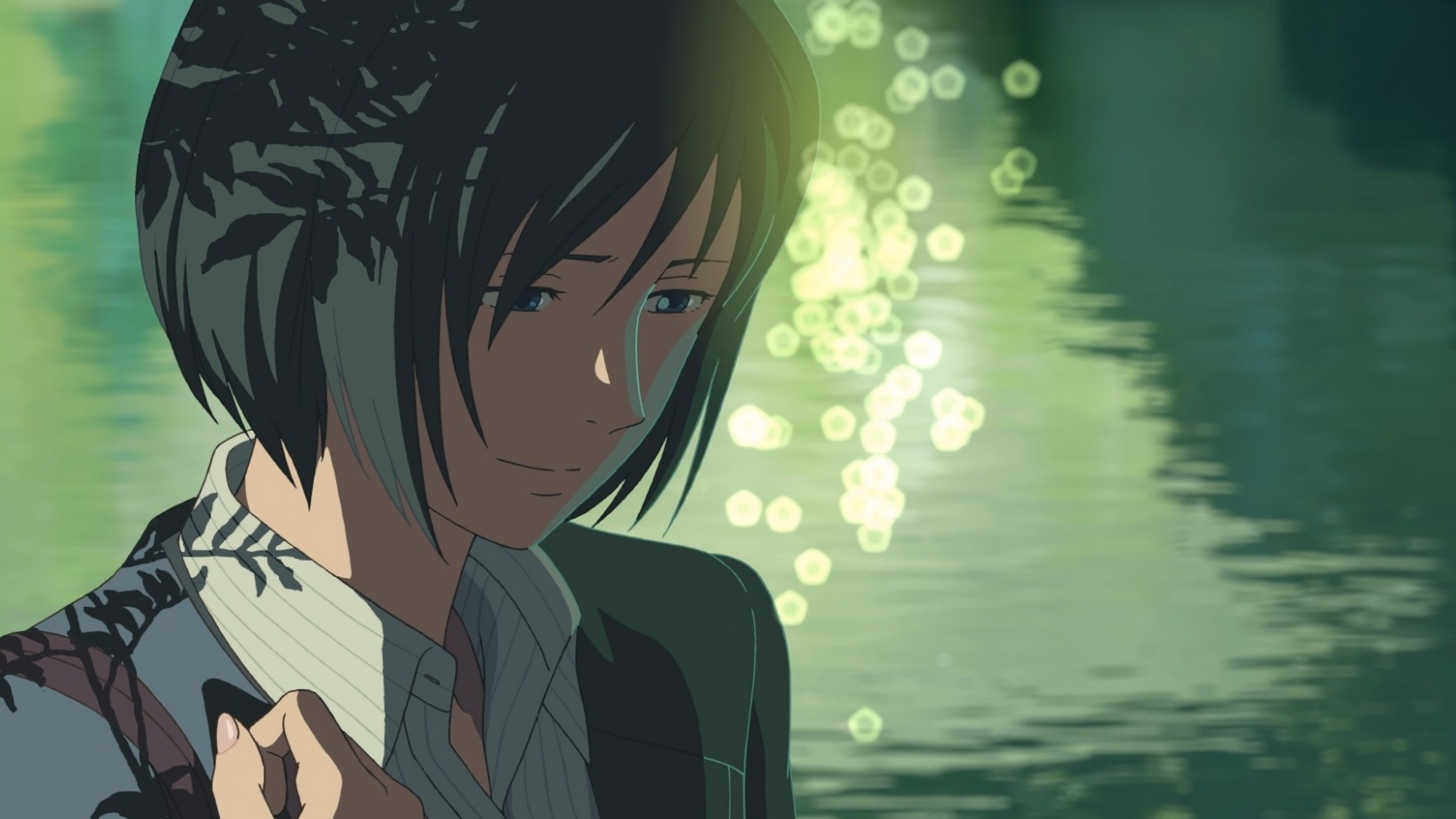 3840x2160 Preview wallpaper kotonoha no niwa, the garden of words, makoto shinkai