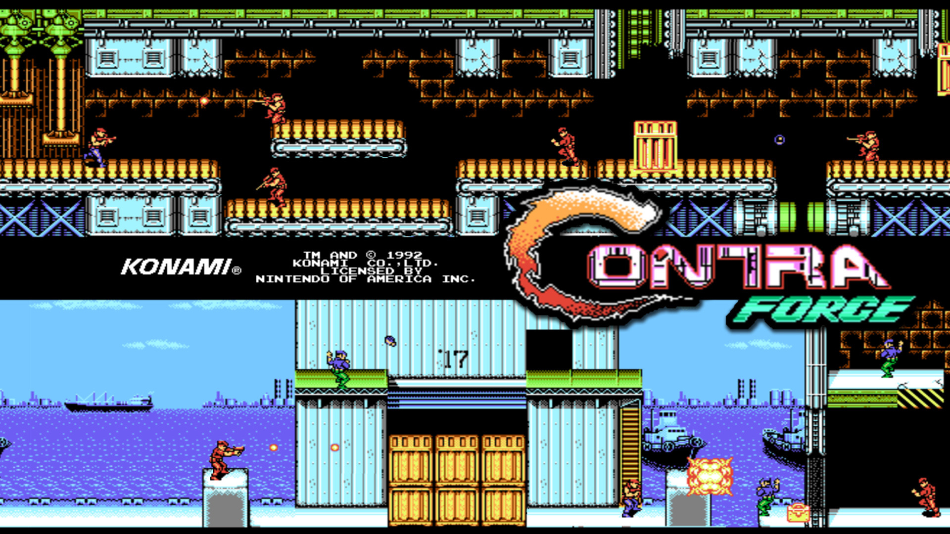 Contra Force For Android Free Download