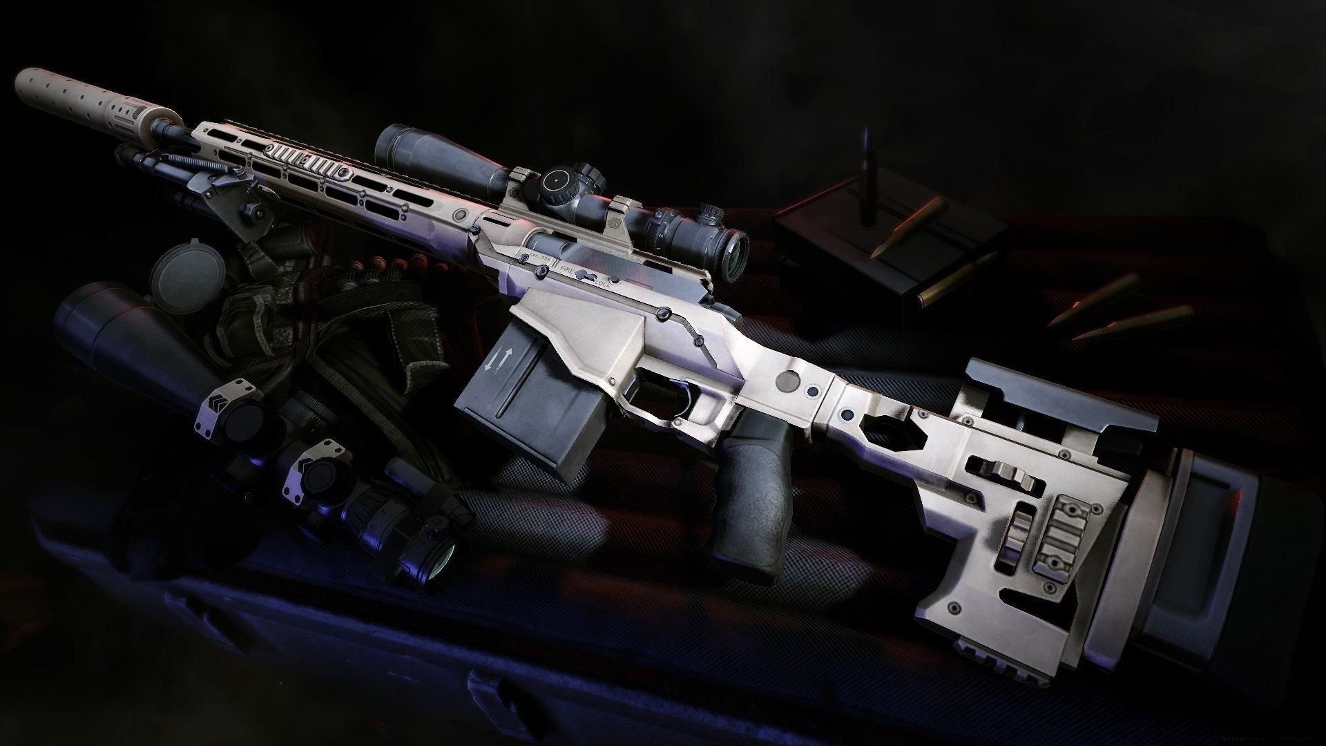 1920x1080 sniper rifle wallpaper 44088