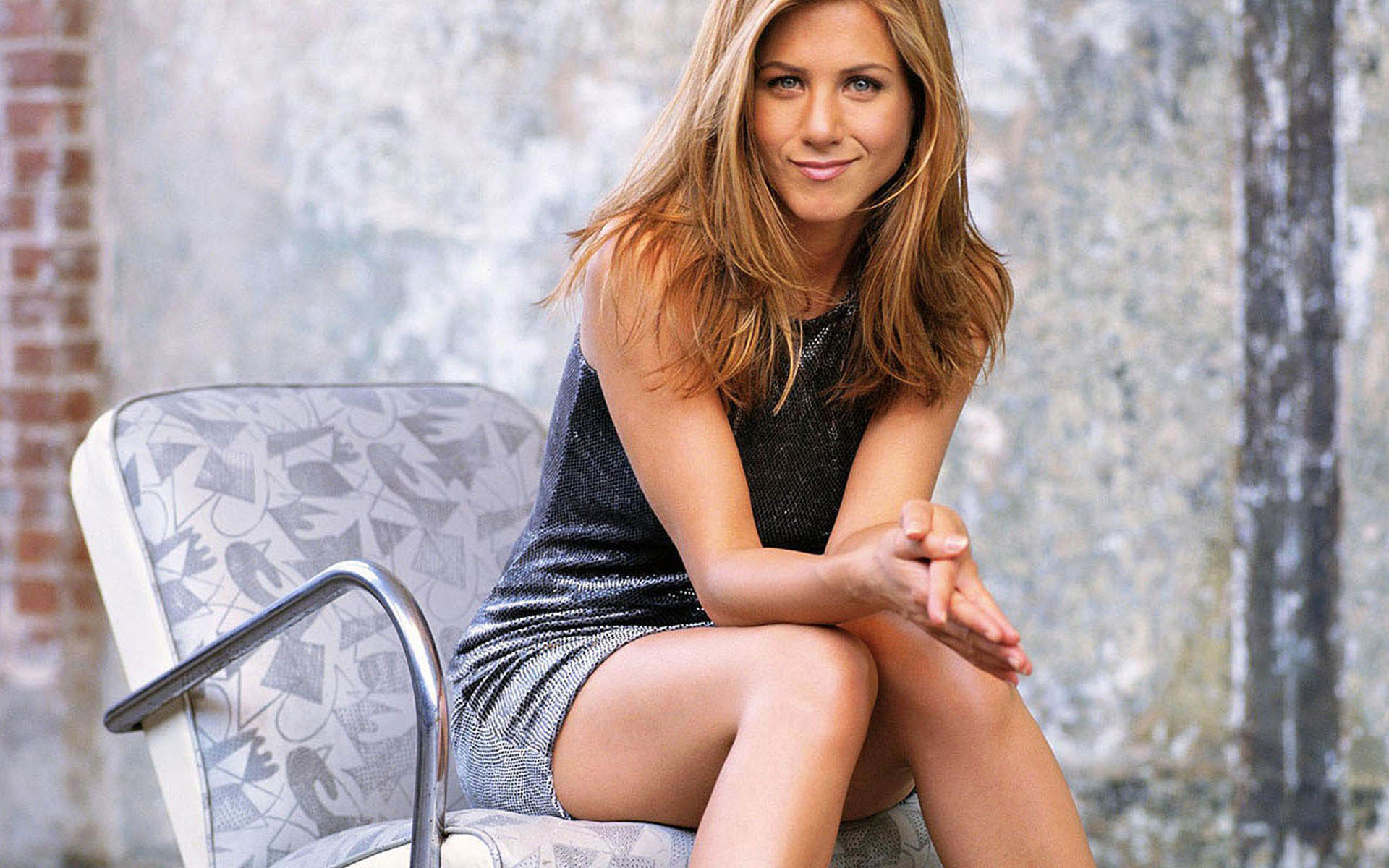 1920x1200 Jennifer Aniston's Beautiful Smile  wallpaper