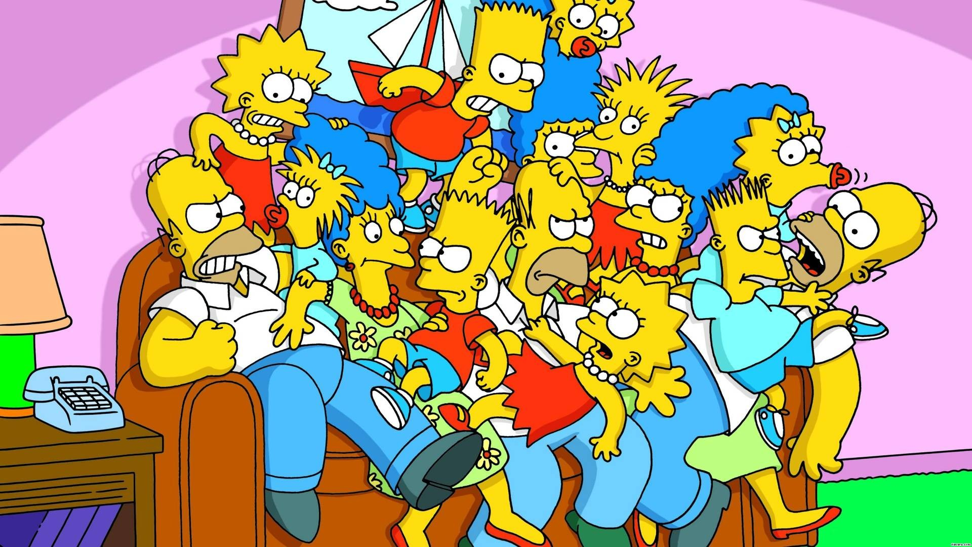 Simpsons Christmas Wallpaper (63+ images)