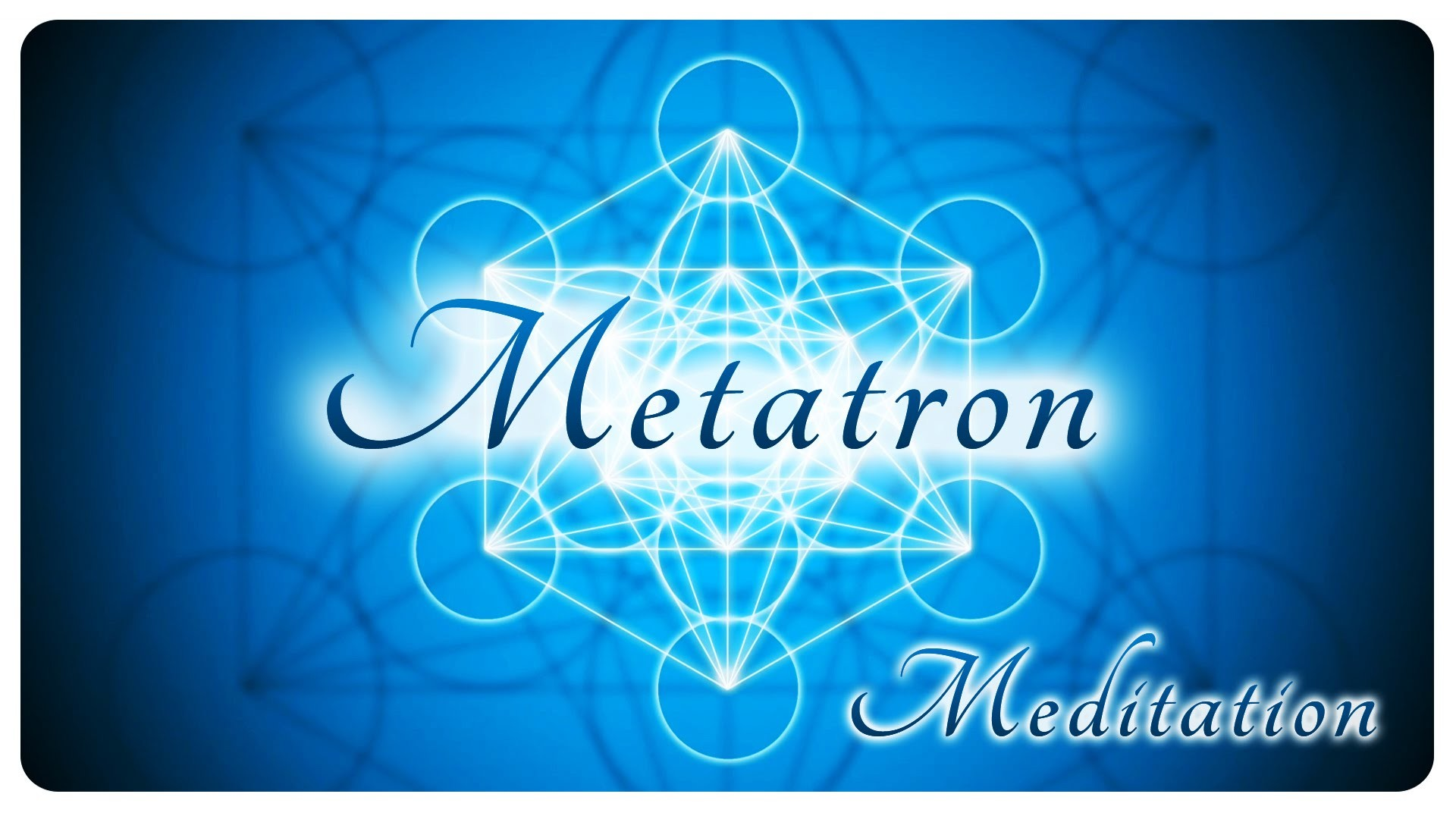1920x1080 Metatron's cube powerful meditation with high quality meditative music