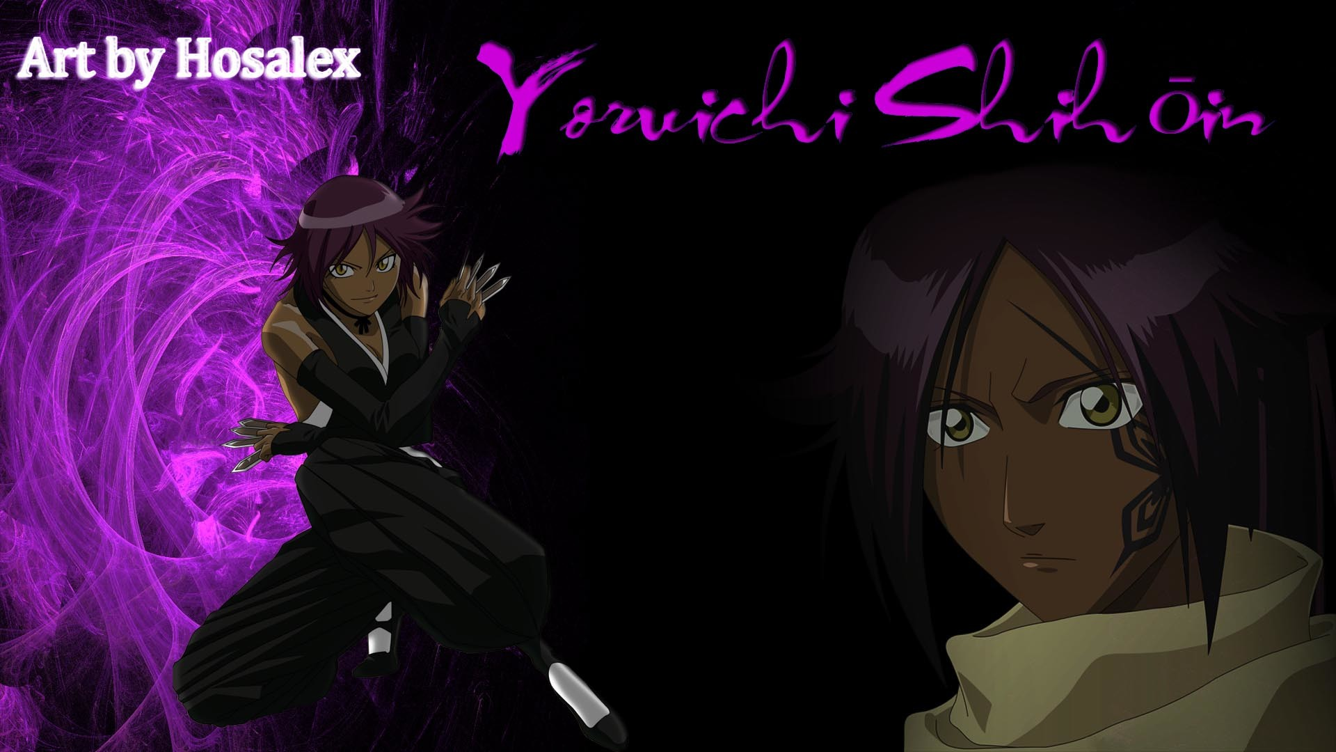 1920x1080 Yoruichi shihouin - wallpaper by Hosalex Yoruichi shihouin - wallpaper by  Hosalex