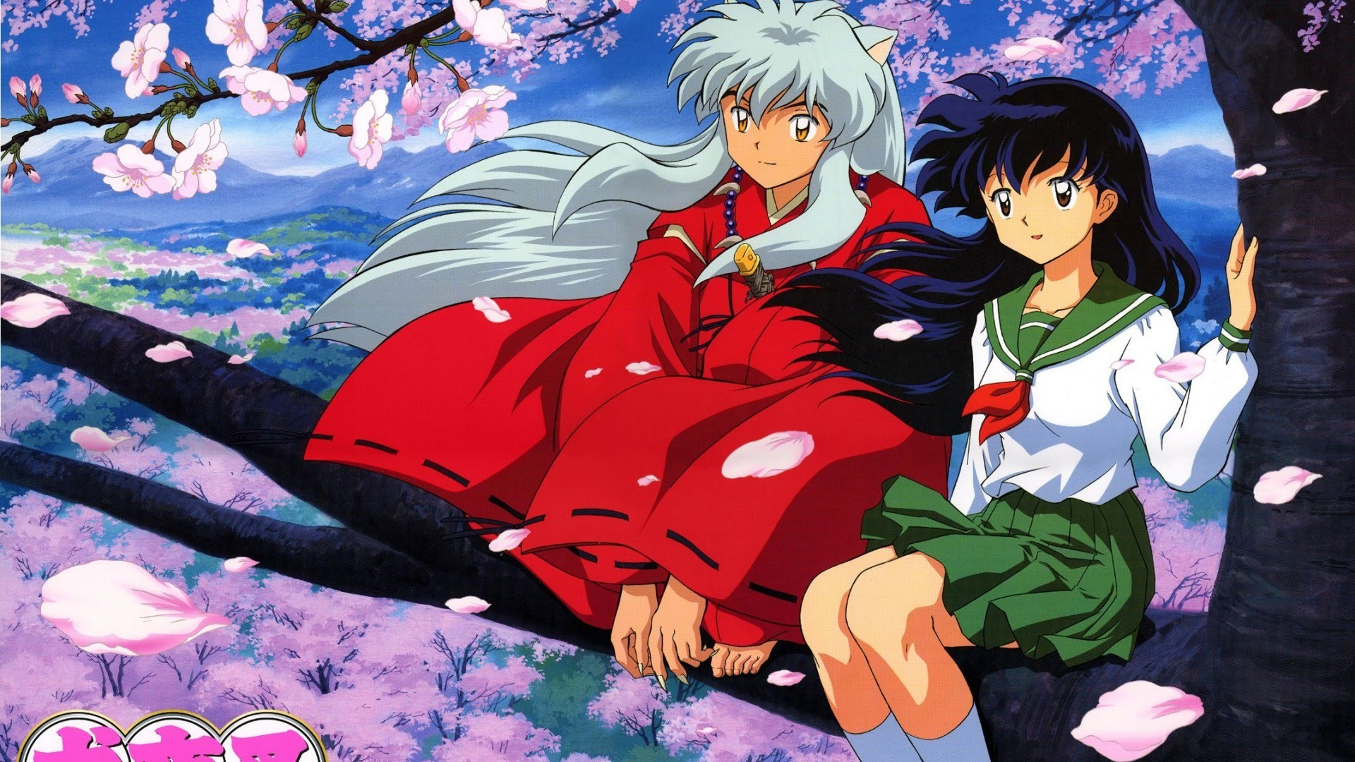 1920x1080 InuYasha Background HD Download.