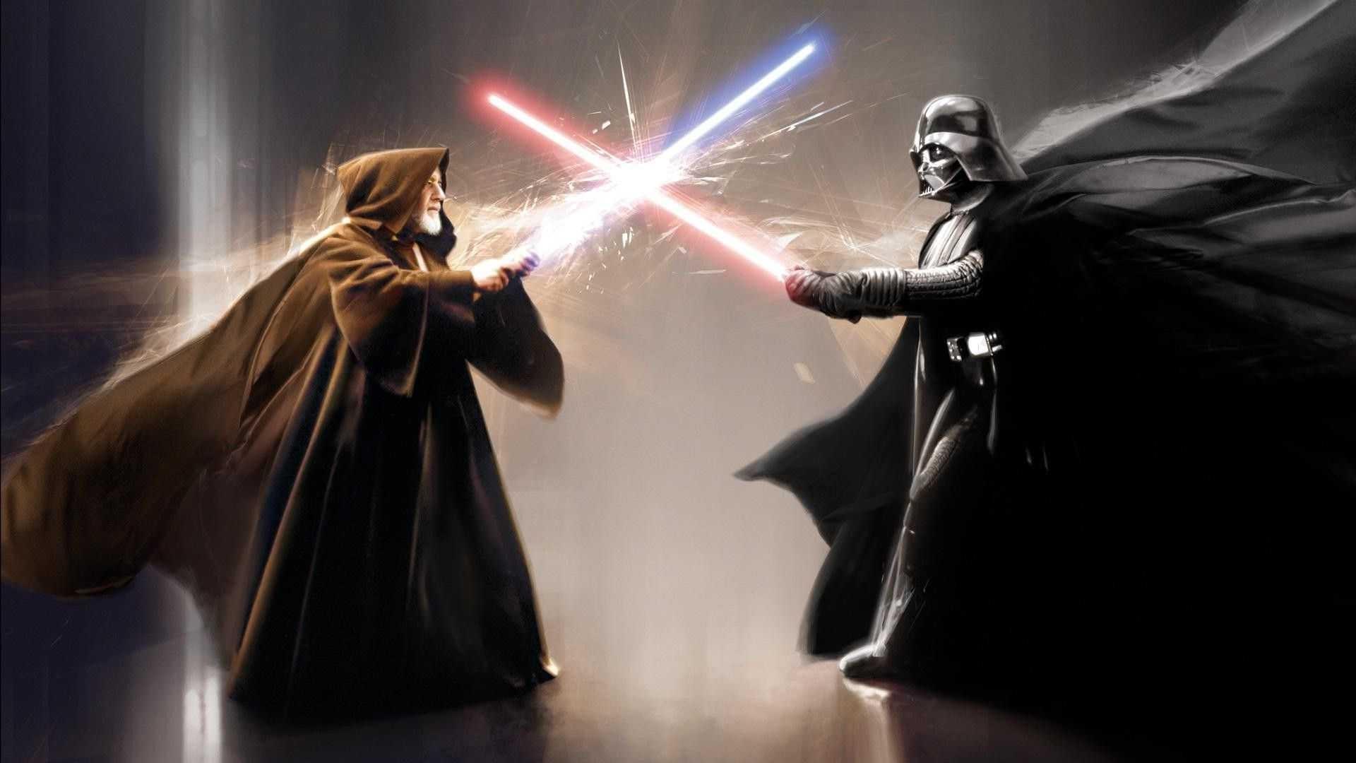 Star Wars Anakin Skywalker Wallpaper: Obi Wan Vs Anakin Wallpaper (70+ Images