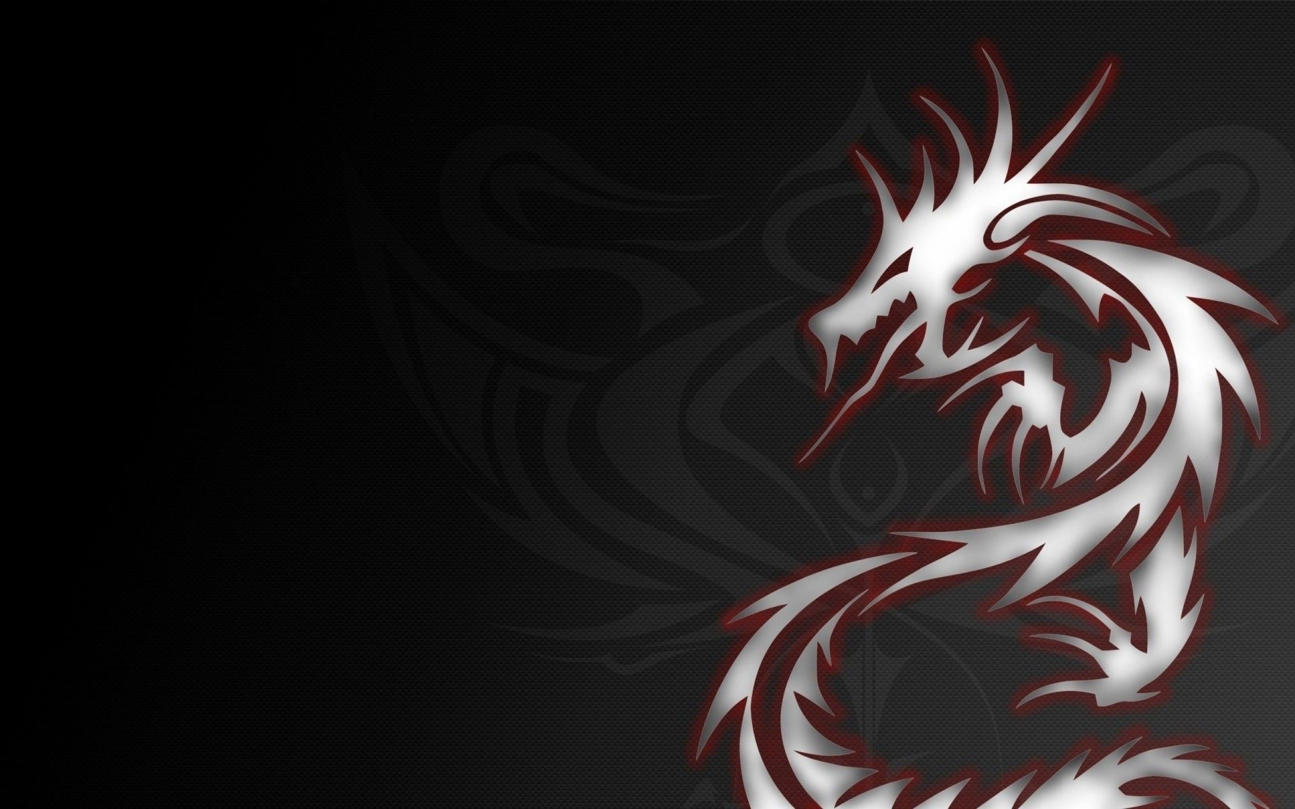 2560x1600 Download Dragon Art Tattoo Black Wallpaper Images HD Free Desktop .