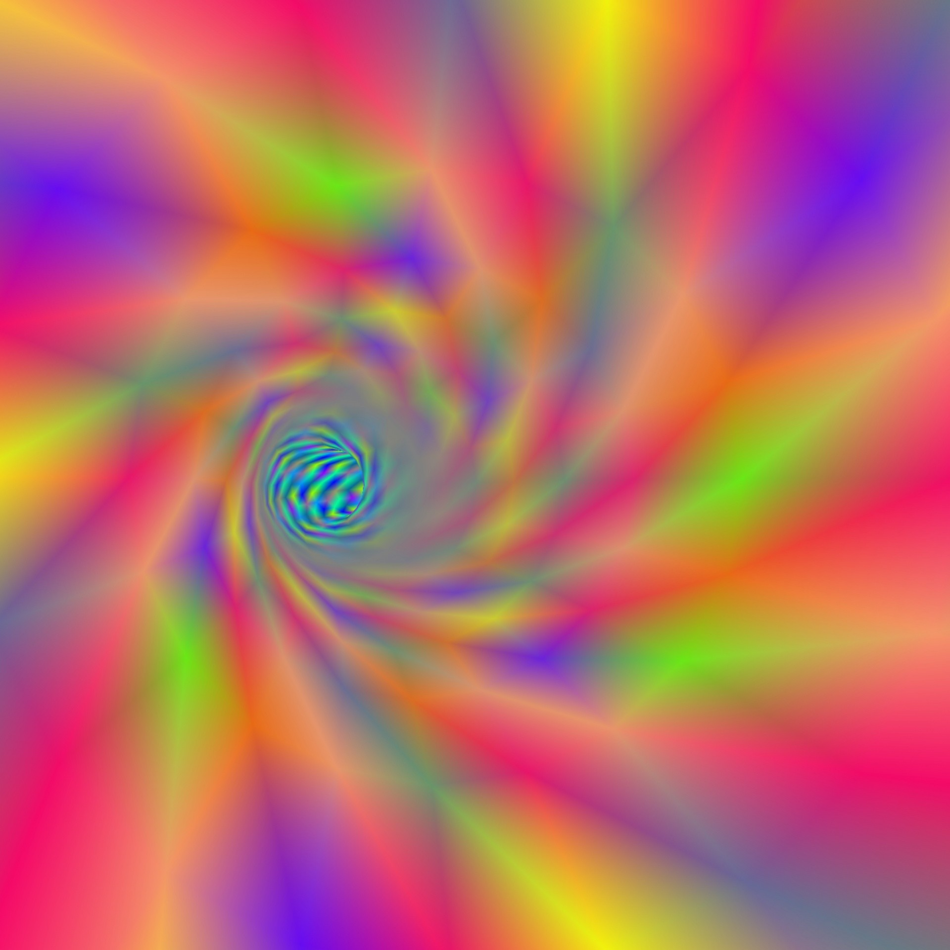 1920x1920 wallpaper,background,rainbow,colors,tunnel,vortex,art,abstract,
