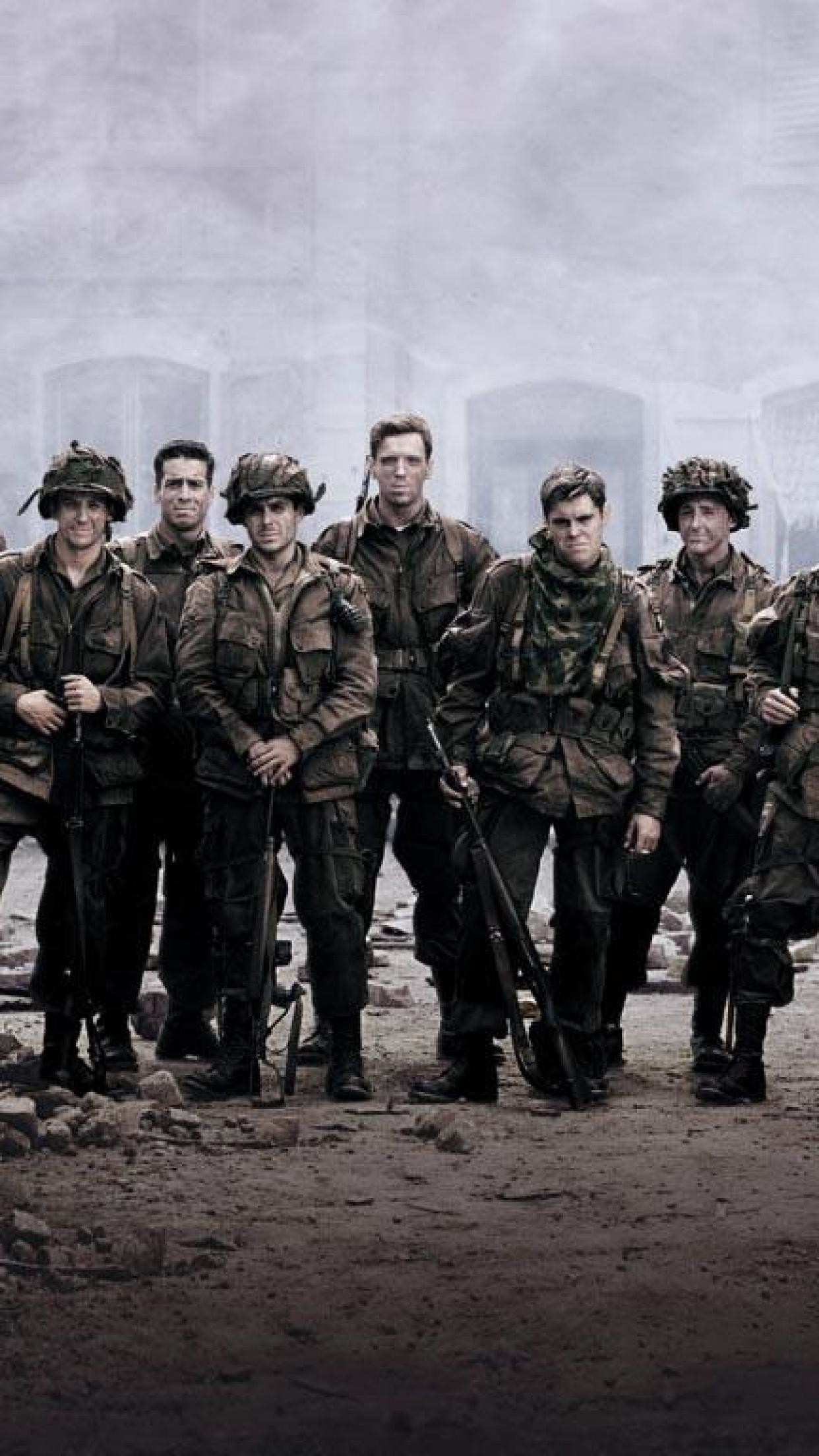 1242x2208 0 Military Phone Wallpaper Military army troops Band of brothers Tv show HD  Wallpapers .