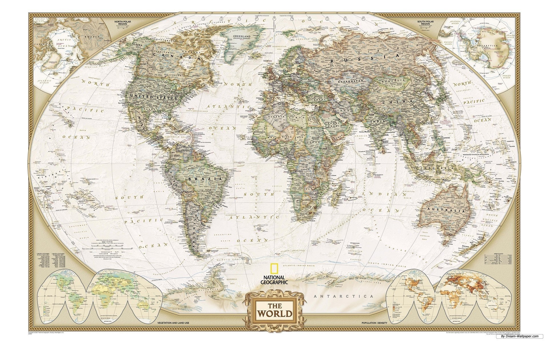 1920x1200 National Geographic World Map 574769