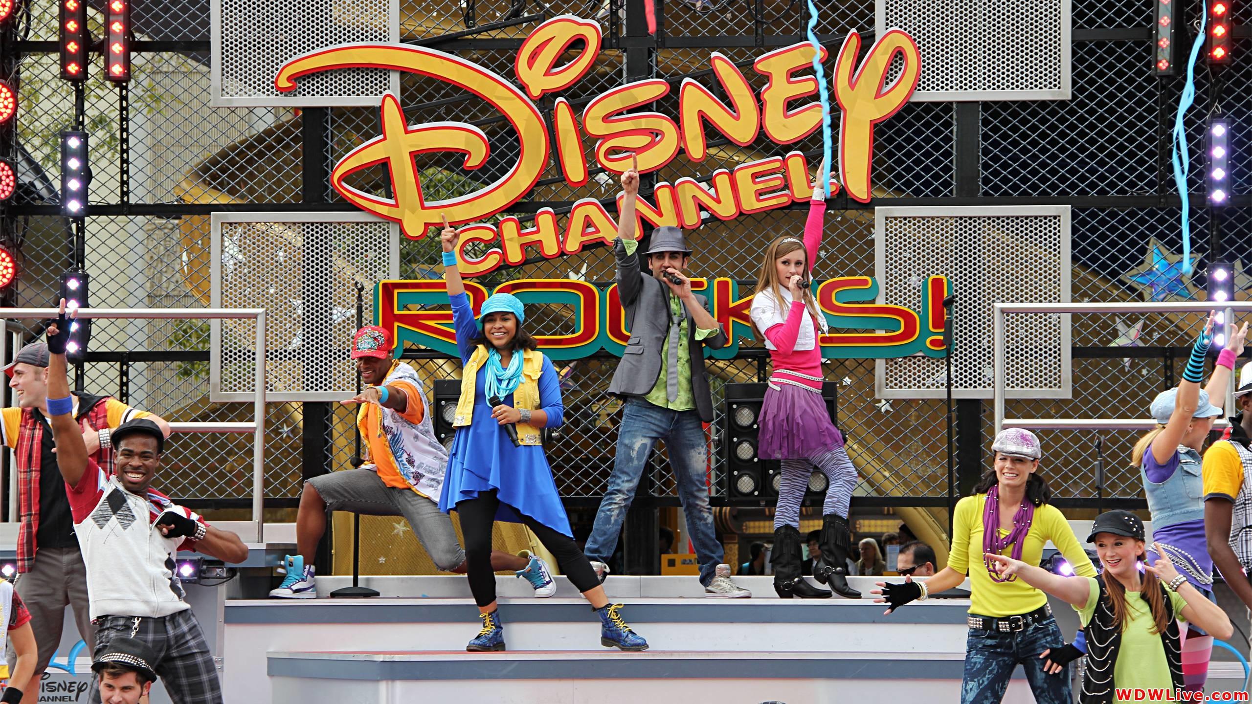 2560x1440 Disney Channel Rocks