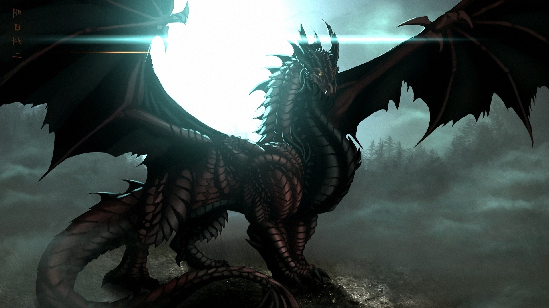 Shadow dragon wallpaper 60 images - Dragon backgrounds 1920x1080 ...