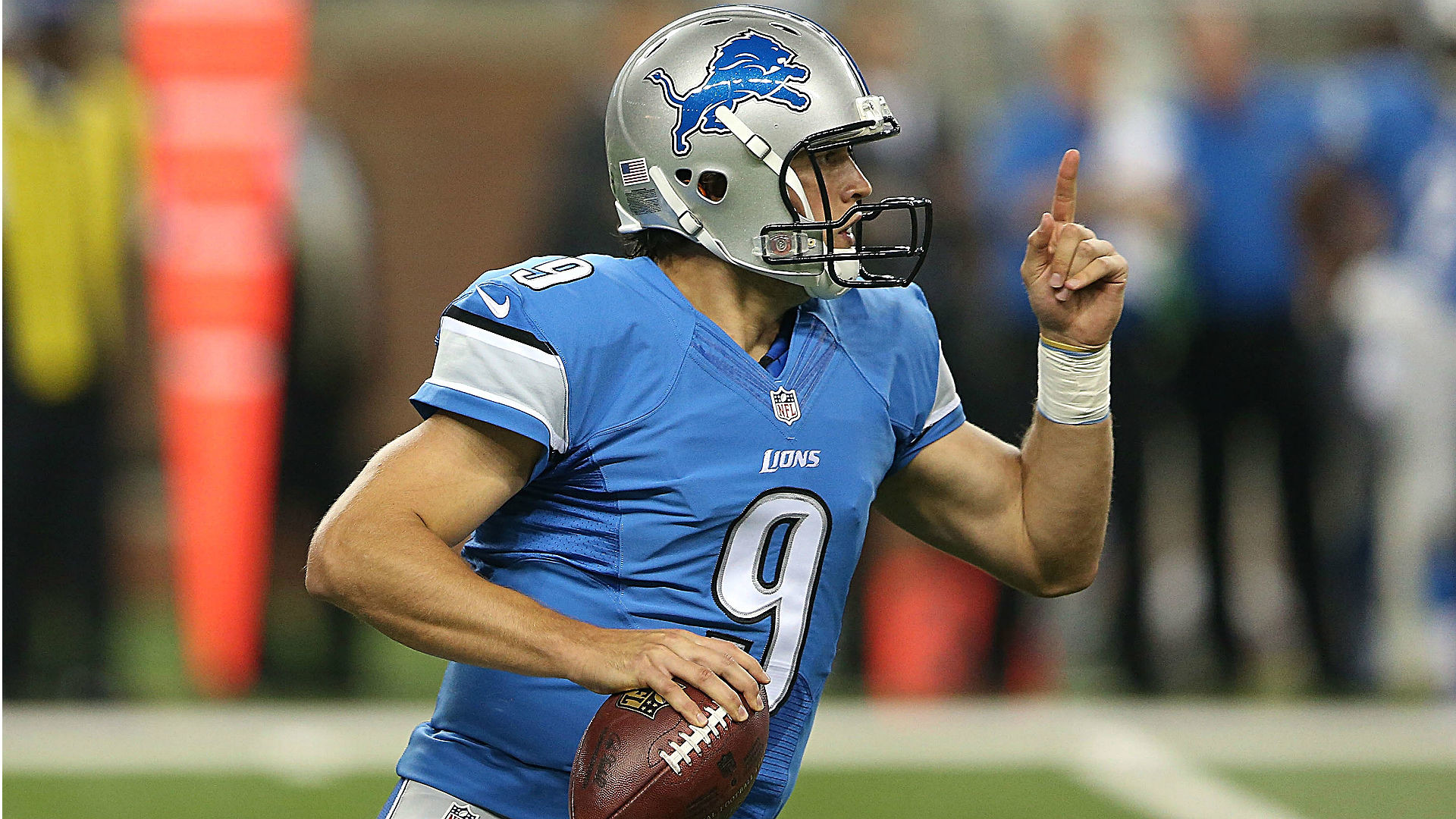 1920x1080 Matthew Stafford on controversial non-call: 'Home cookin'' | NFL | Sporting  News
