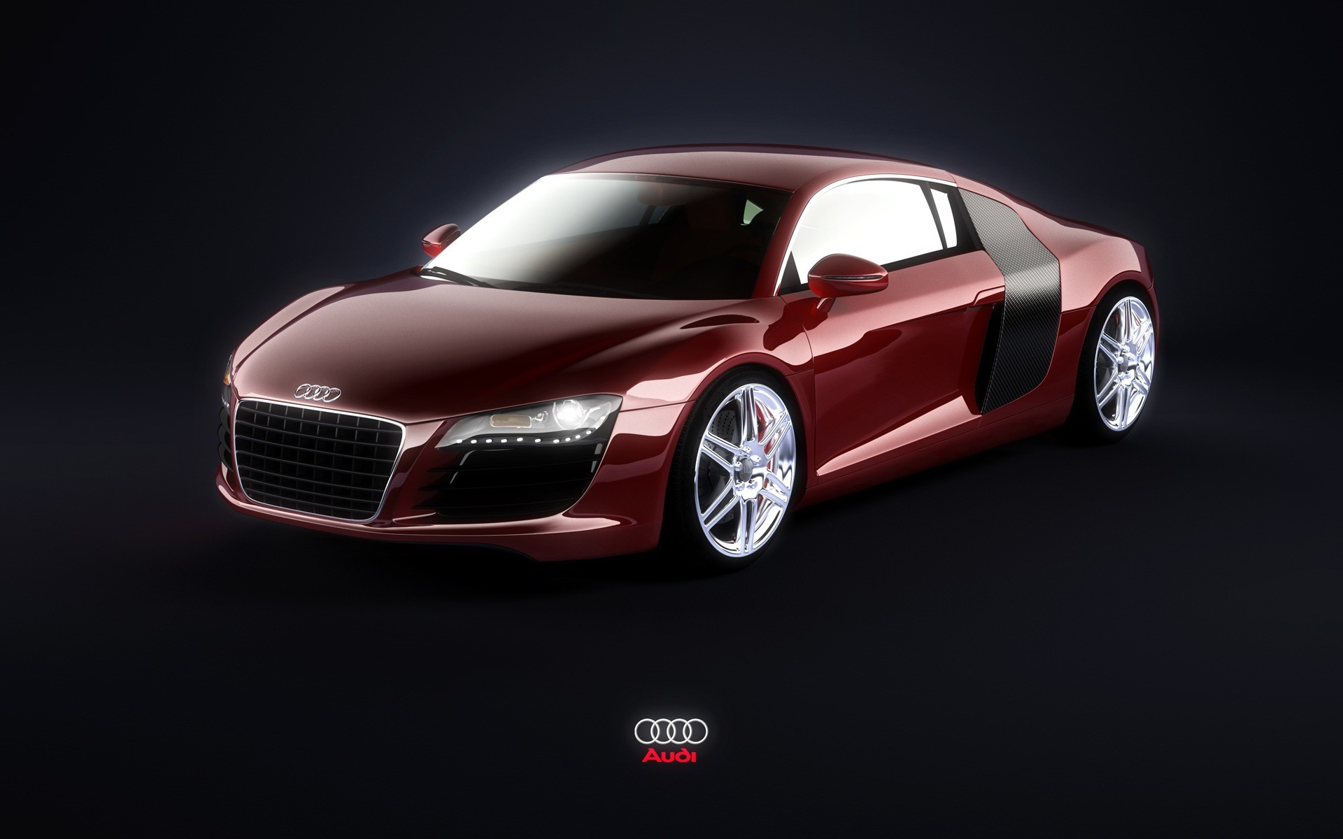 1920x1200 Red Audi R8 Wallpaper Audi Cars Wallpapers
