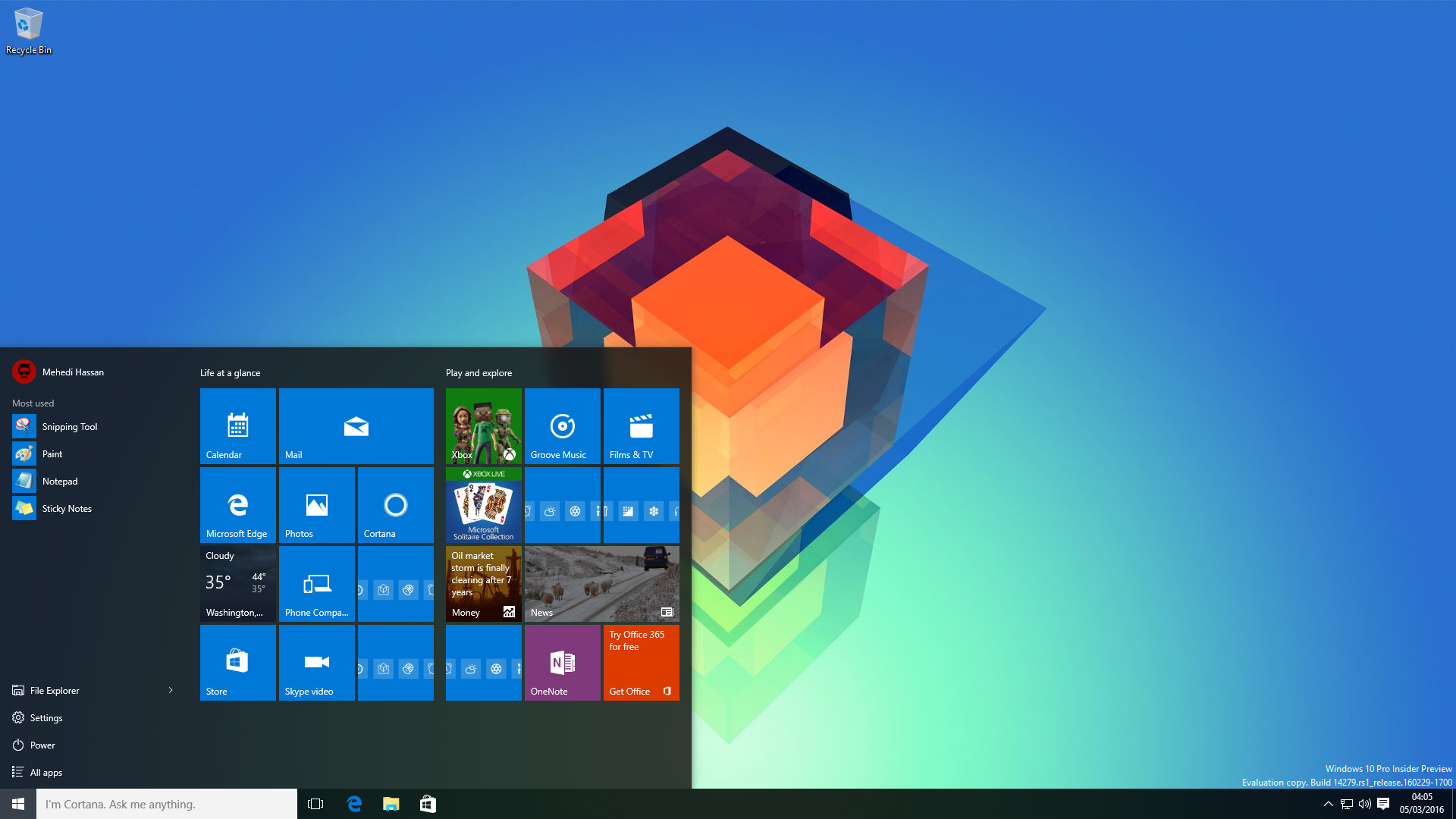 1920x1080 Last night, Microsoft released Windows 10 Build 14279 to Insiders in the  Fast Ring. Ahead of Build 2016, the folks over at Redmond are working hard  to add ...