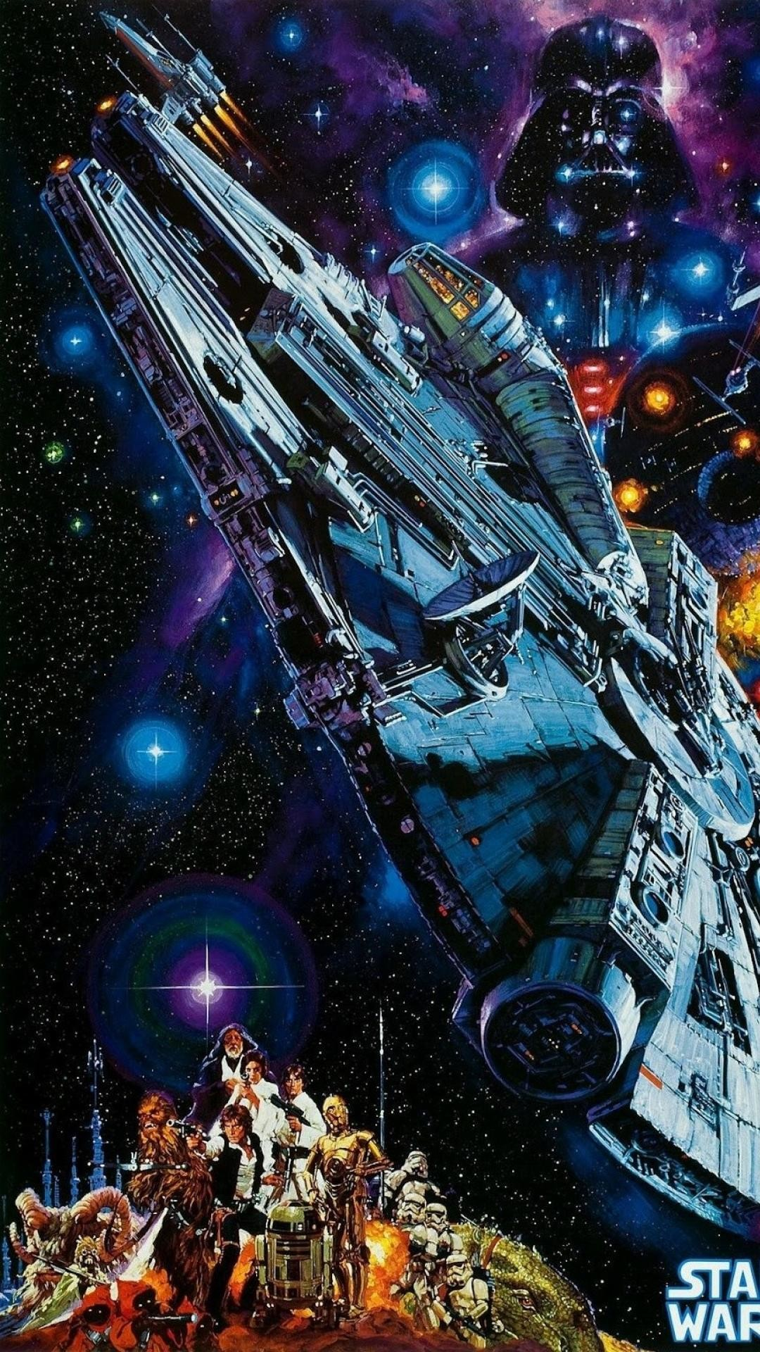 Retro Star Wars Iphone Wallpaper