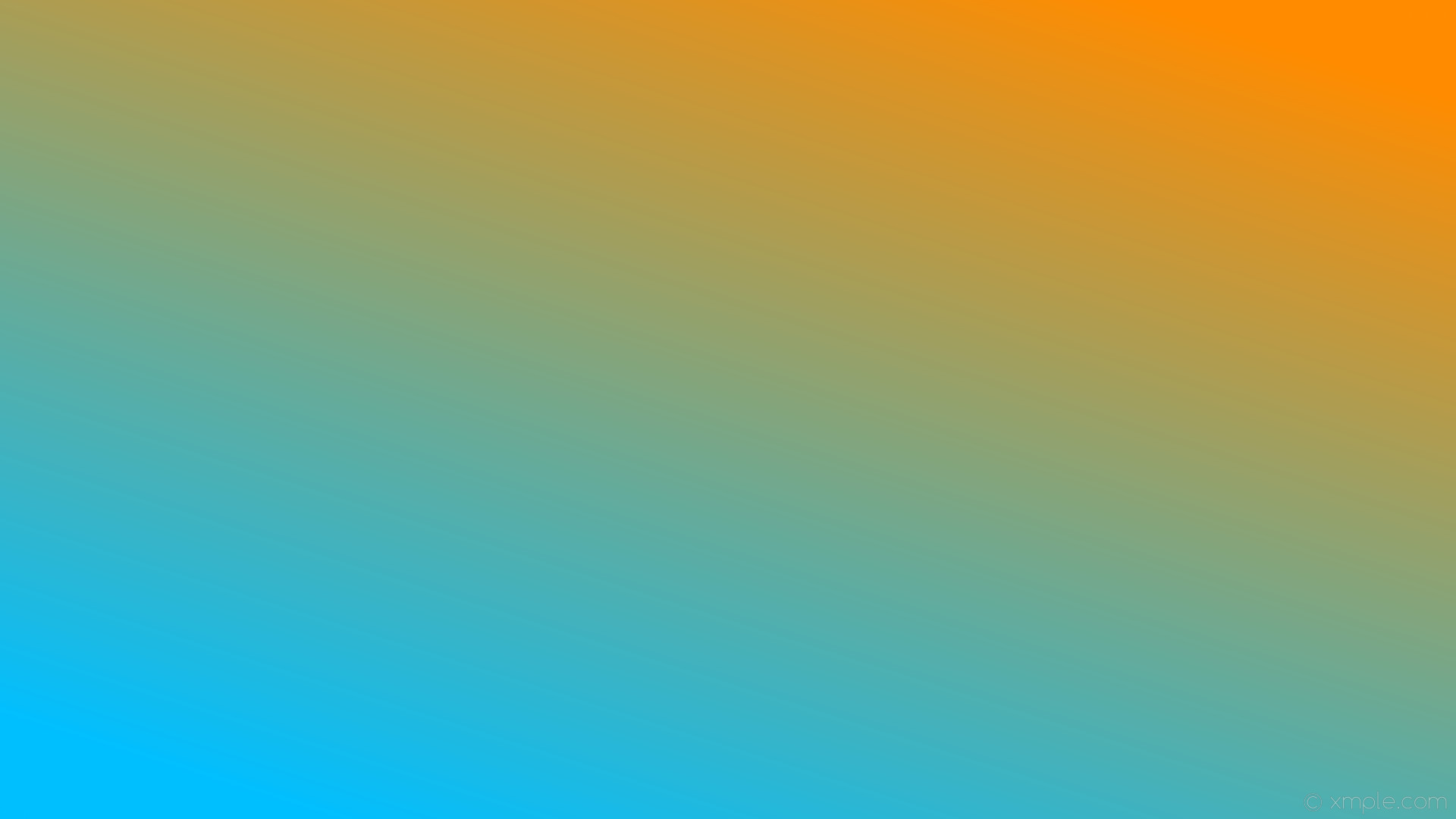green orange blue