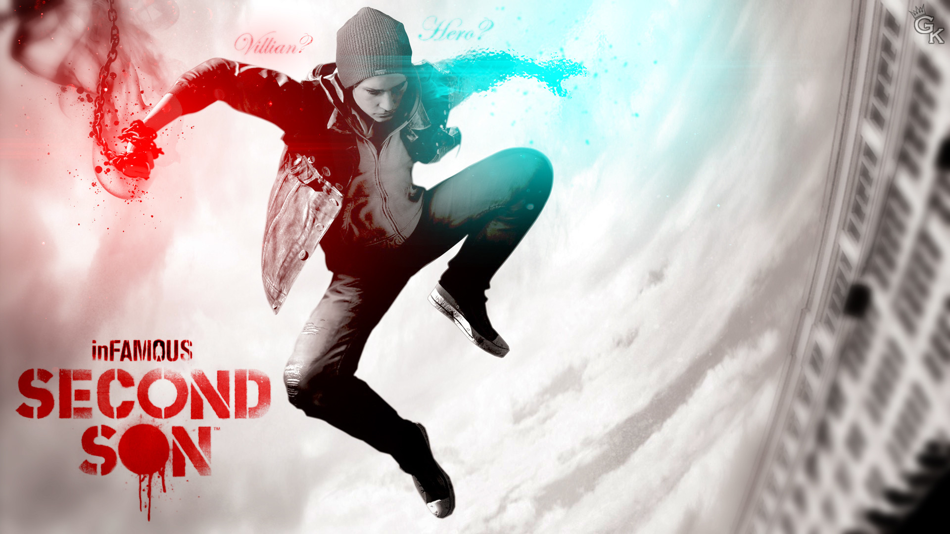 1920x1080 Backgrounds In High Quality: Infamous Second Son by Minna Boynton, 08.08.13