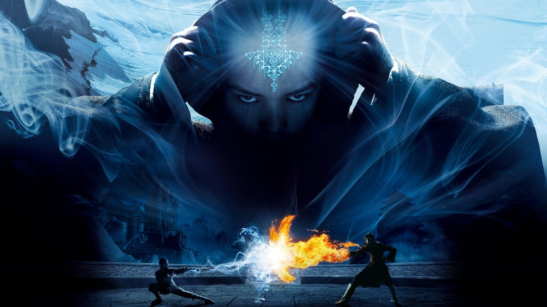 1920x1080  wallpaper The Last Airbender, movie, fight, avatar