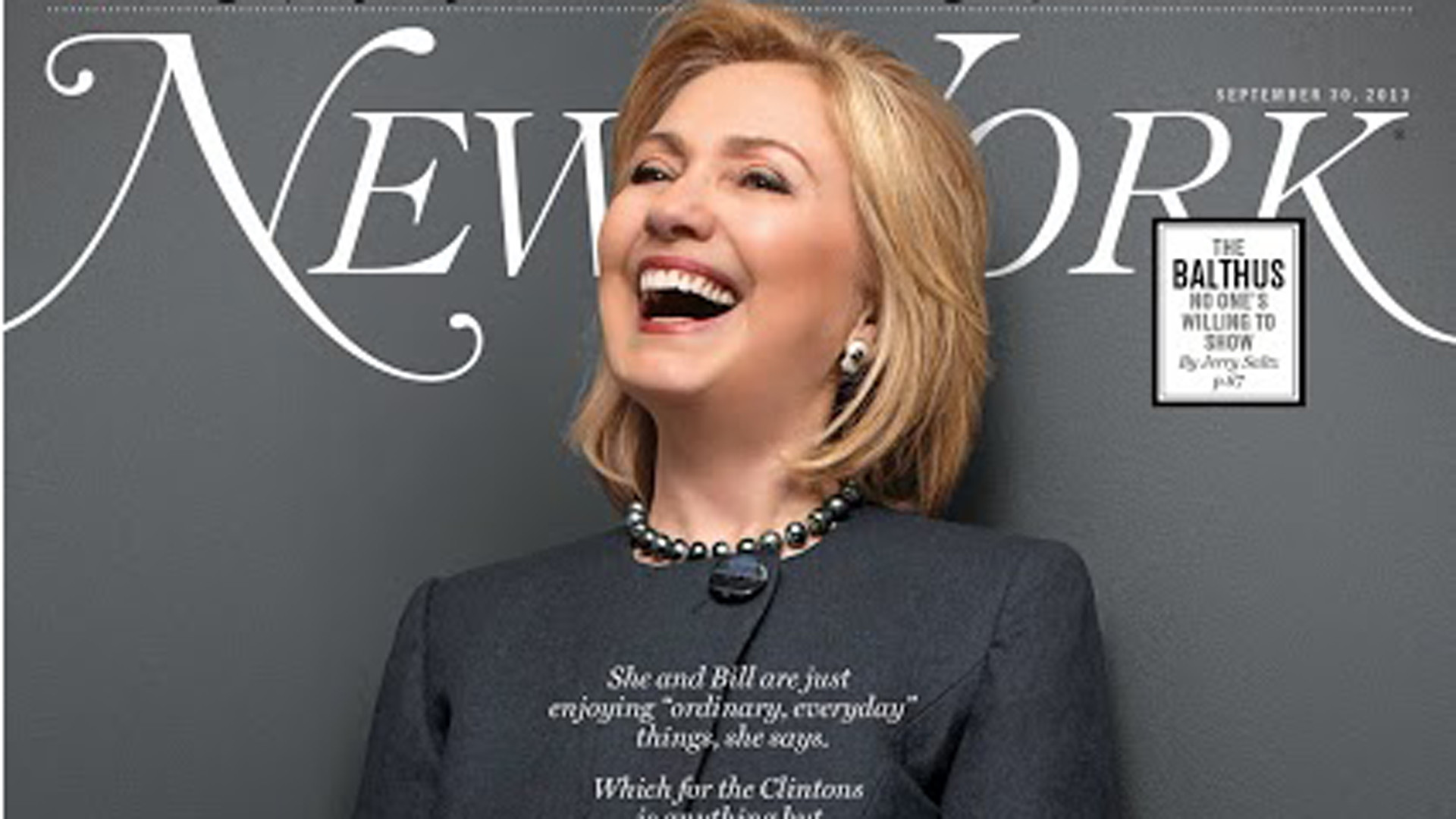 1920x1080 Hillary Clinton appears on the cover of New York magazine's latest .