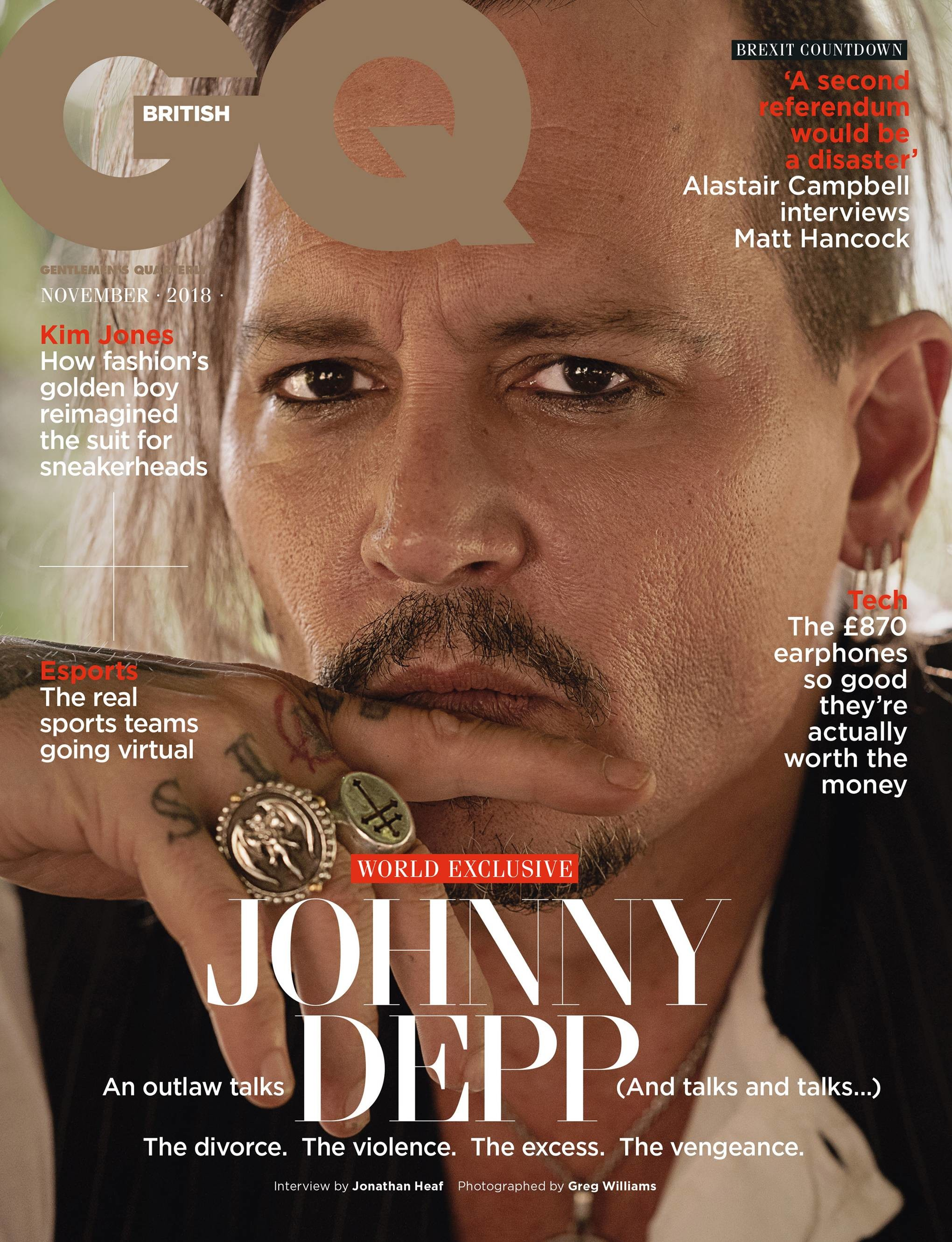 2040x2660 Johnny Depp interview 2018: A world exclusive discussion with the actor |  British GQ