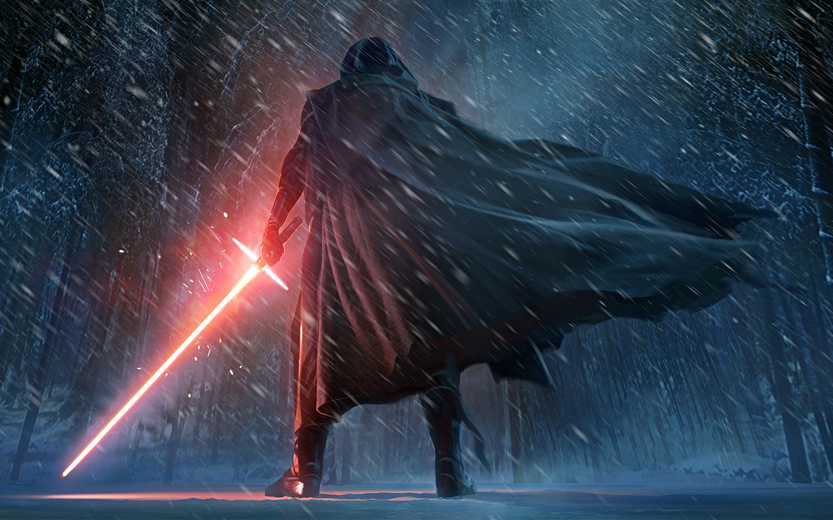 2880x1800 Star Wars, Star Wars: Episode VII The Force Awakens, Lightsaber Wallpapers  HD / Desktop and Mobile Backgrounds