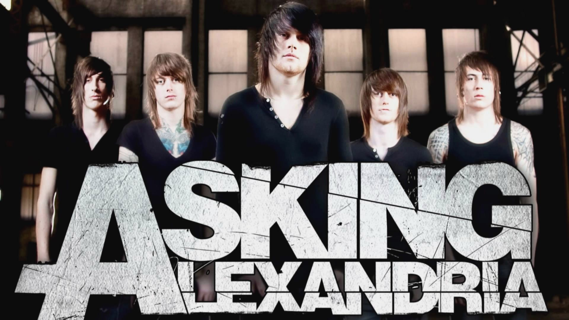 1920x1080 Asking Alexandria Wallpaper Full HD.