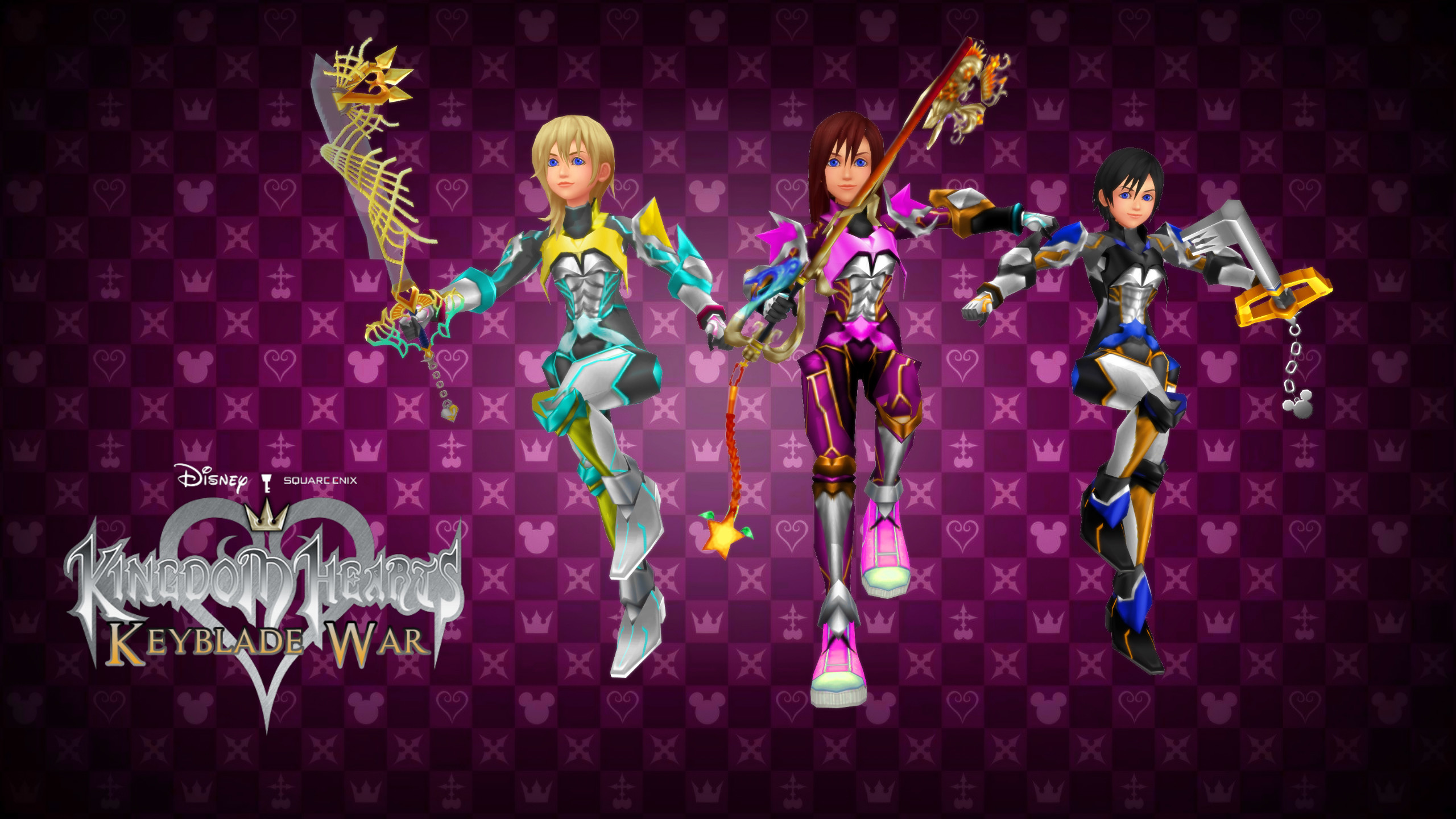 2560x1440 Kingdom Hearts Keyblade War Custom Wallpaper 03 by todsen19 on .
