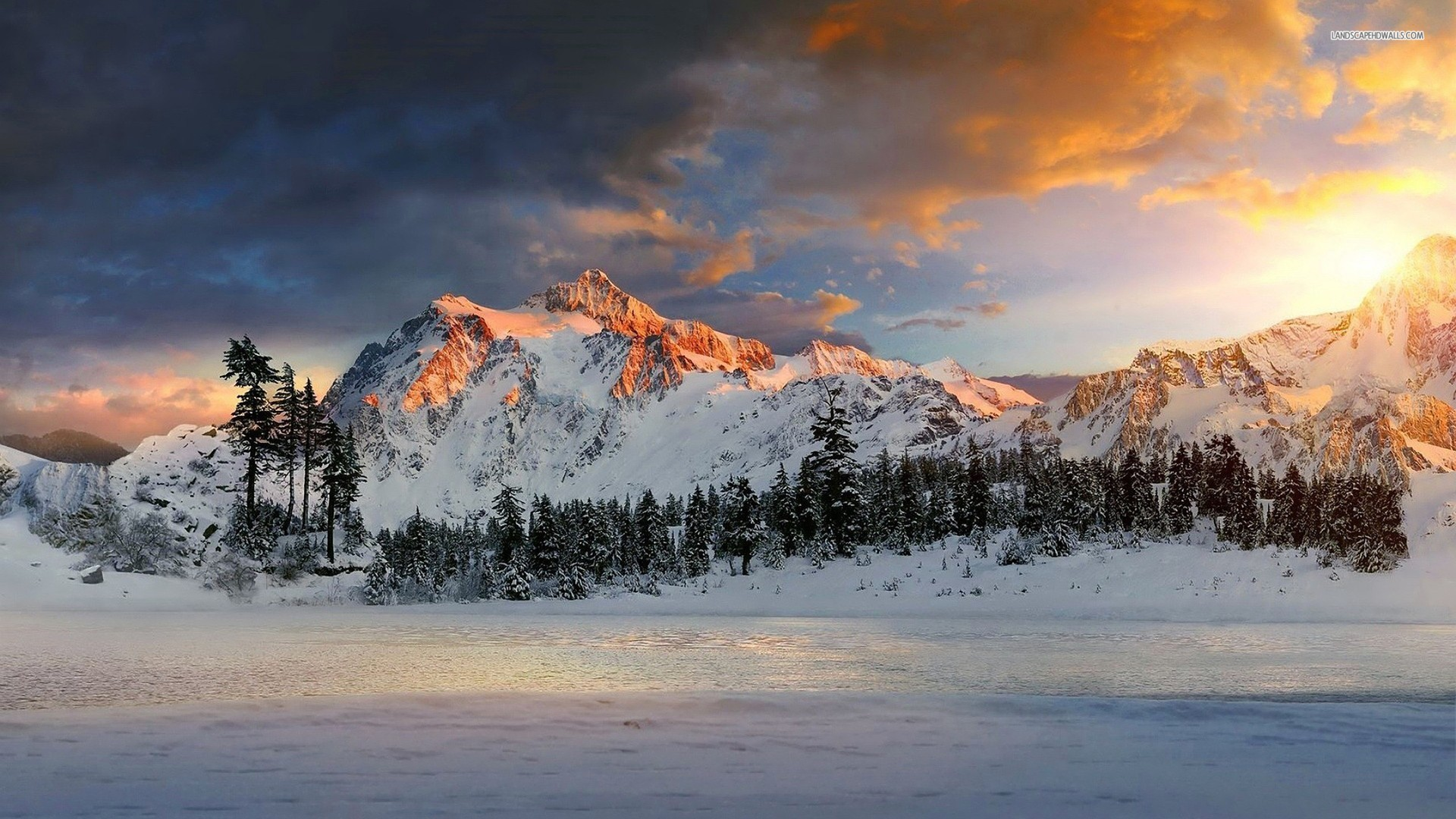 Snow Wallpapers 1920x1080 Full Hd: Snow Mountains Wallpaper (76+ Images